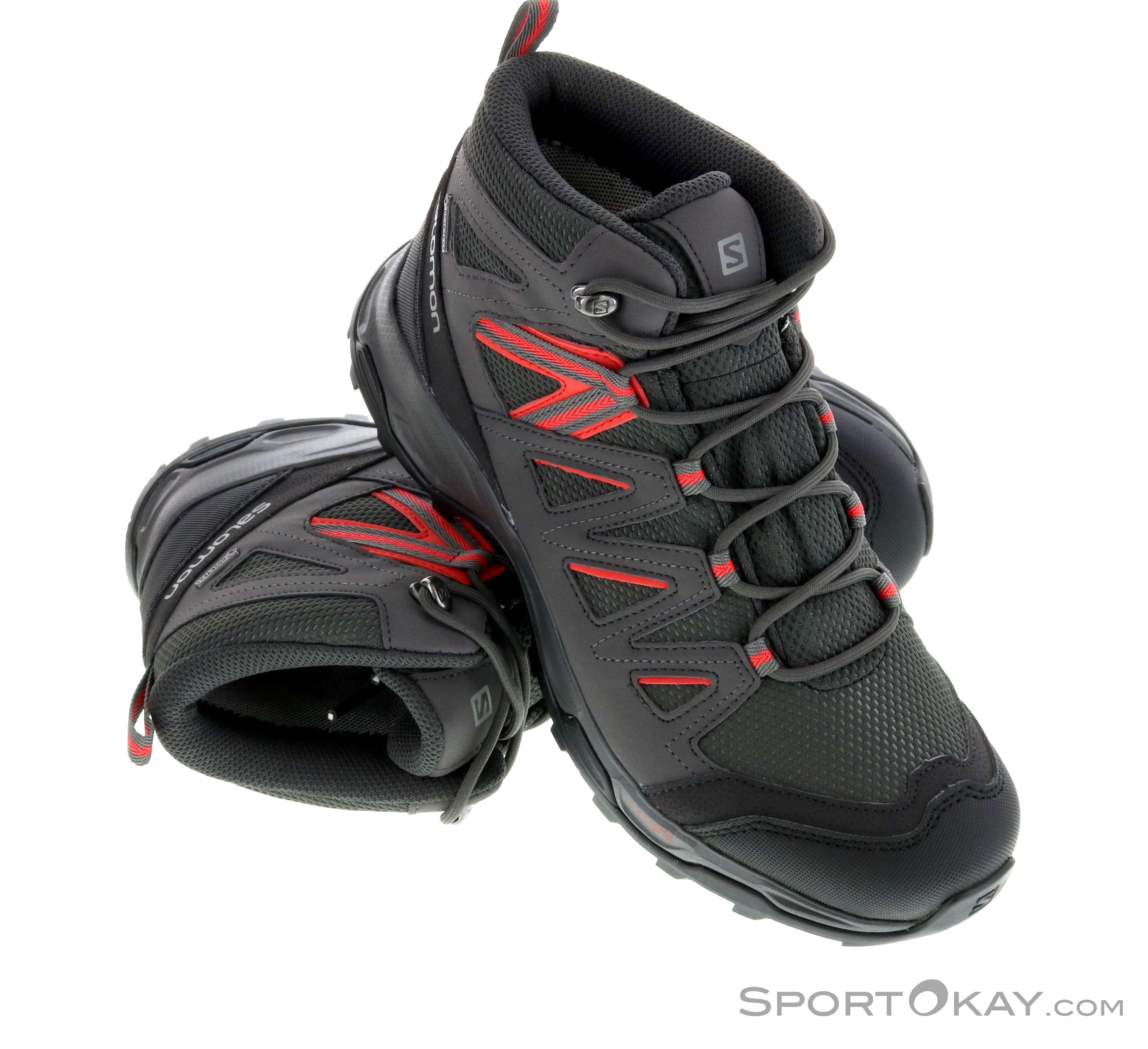 best loved 147a2 71939 Salomon Salomon Hillrock Mid GTX Womens Trekking Shoes Gore-Tex
