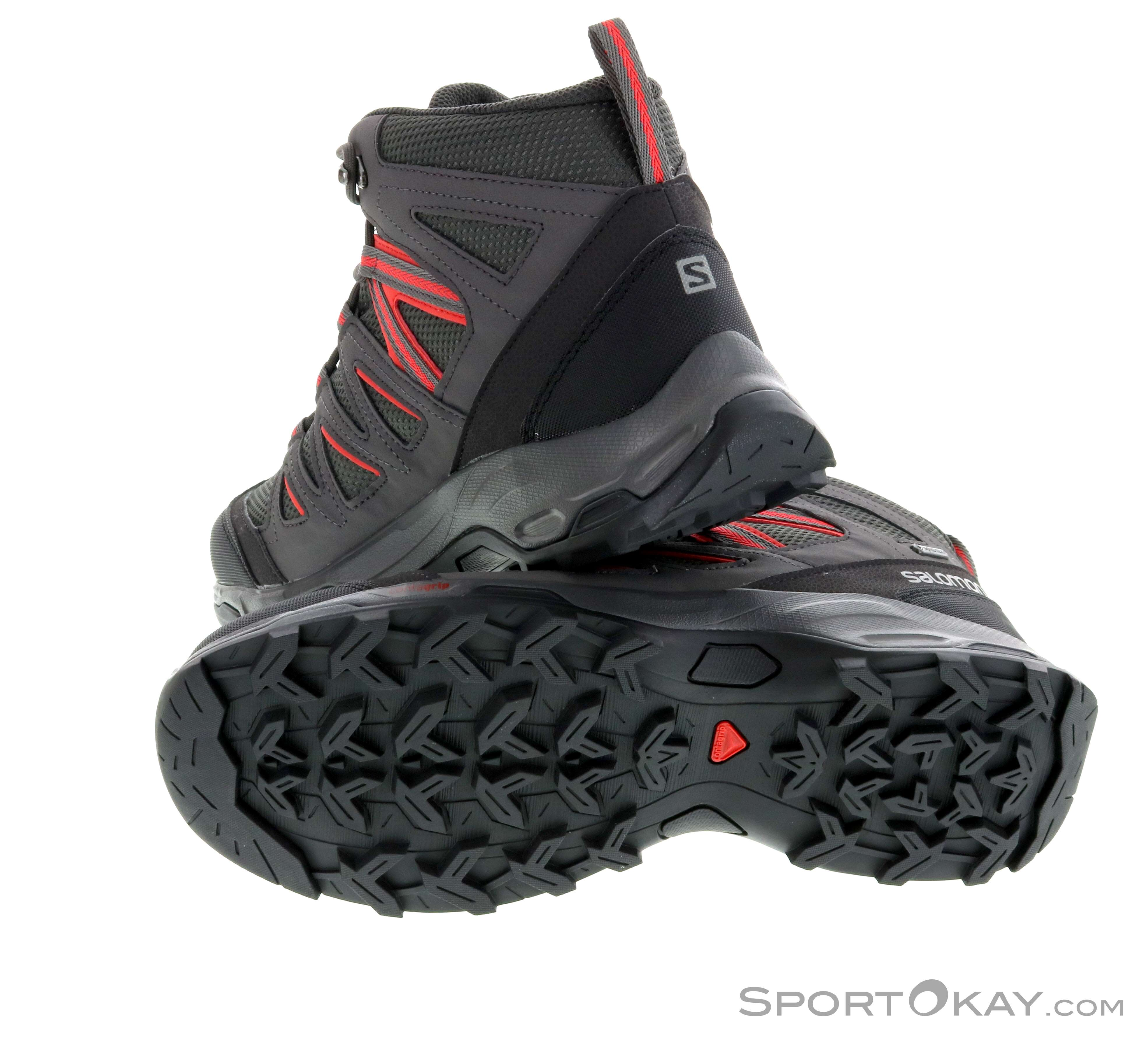 SALOMON HILLROCK MID GTX Gore Tex Trekking Wander Schuhe