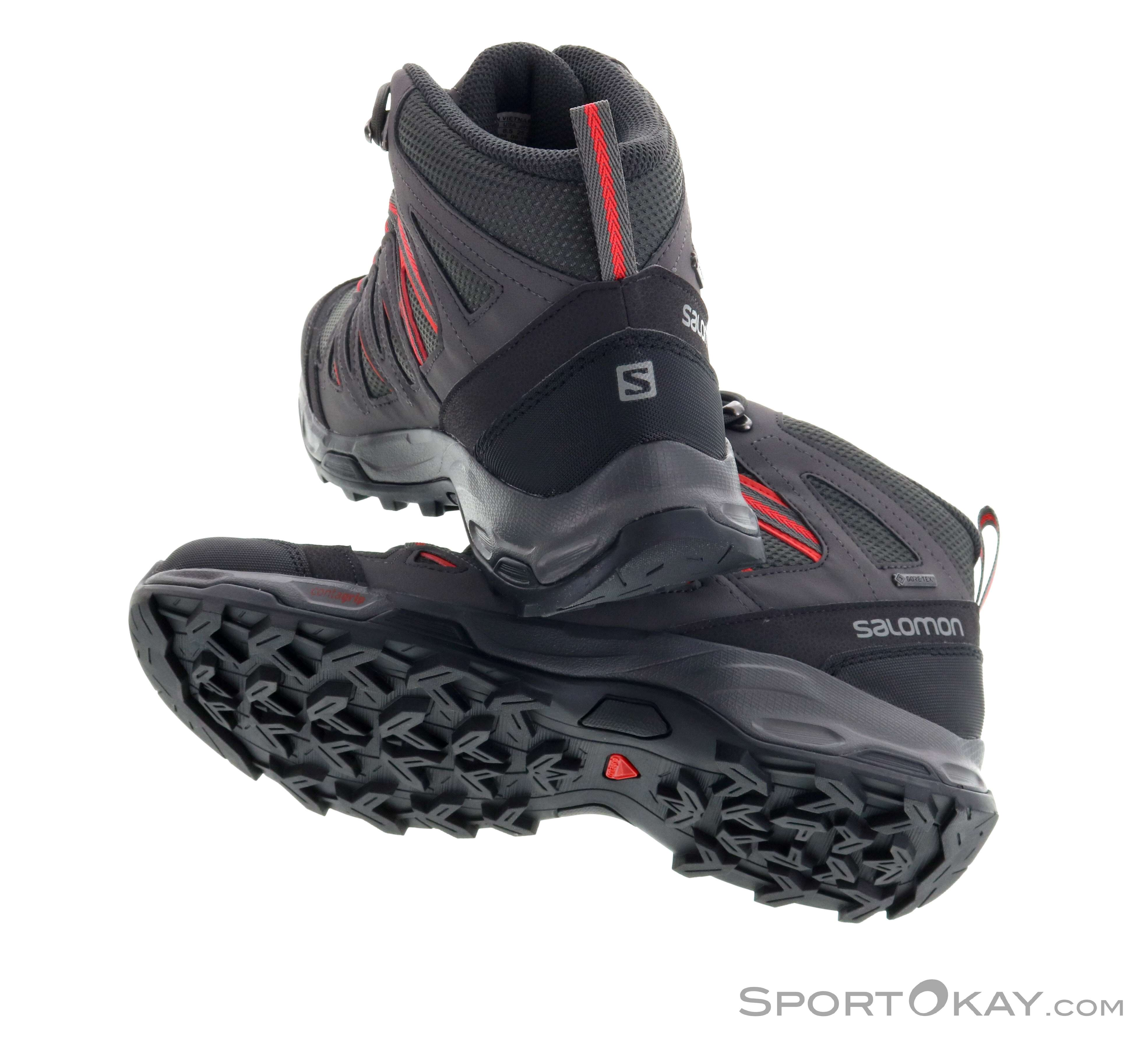 best loved 34bde 0d9b0 Salomon Salomon Hillrock Mid GTX Womens Trekking Shoes Gore-Tex