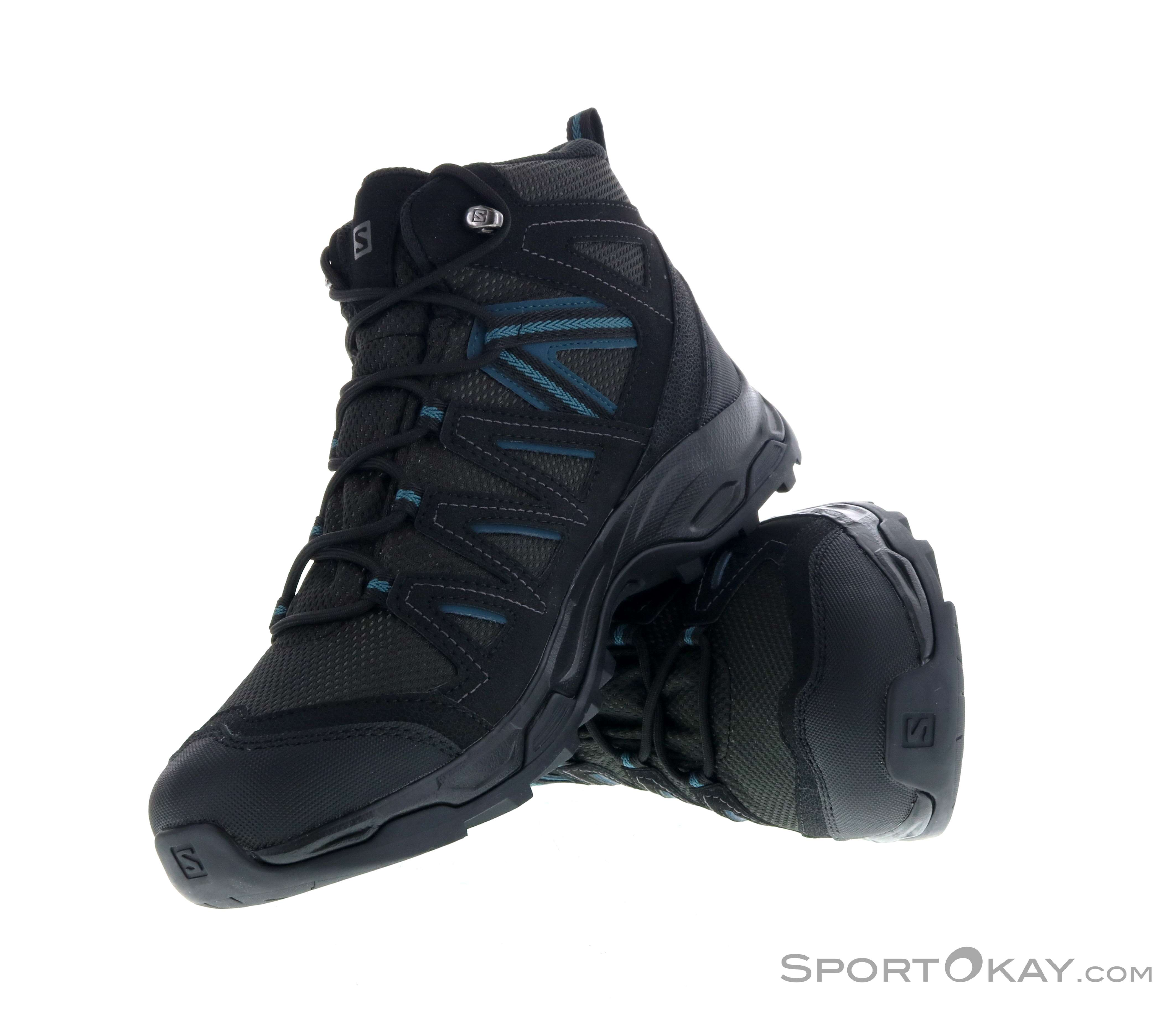 Salomon Hillrock Mid GTX Mens Trekking Shoes Gore Tex