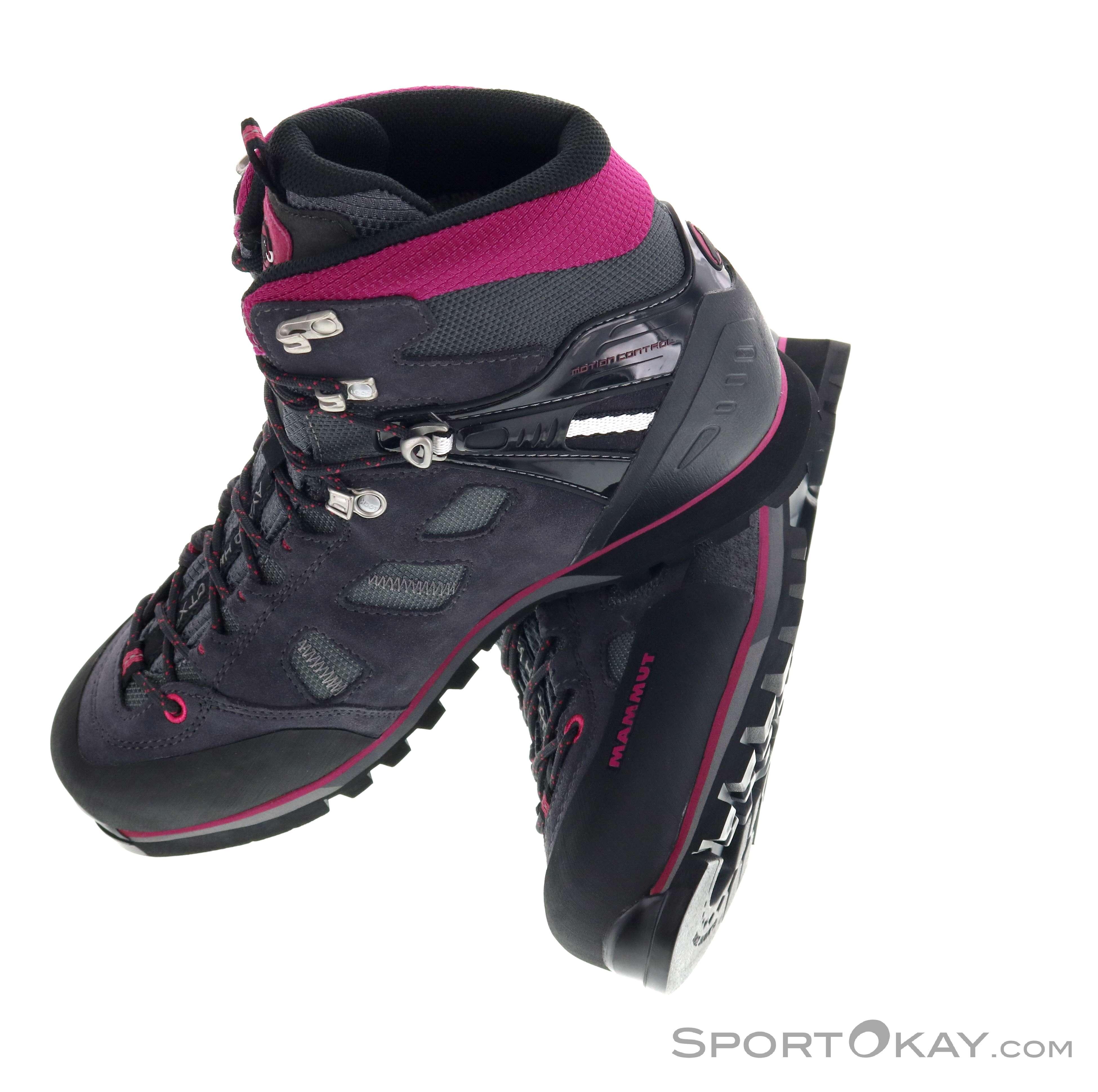 ad5c6a7f1d1 Mammut Mammut Ayako High GTX Womens Trekking Shoes Gore-Tex