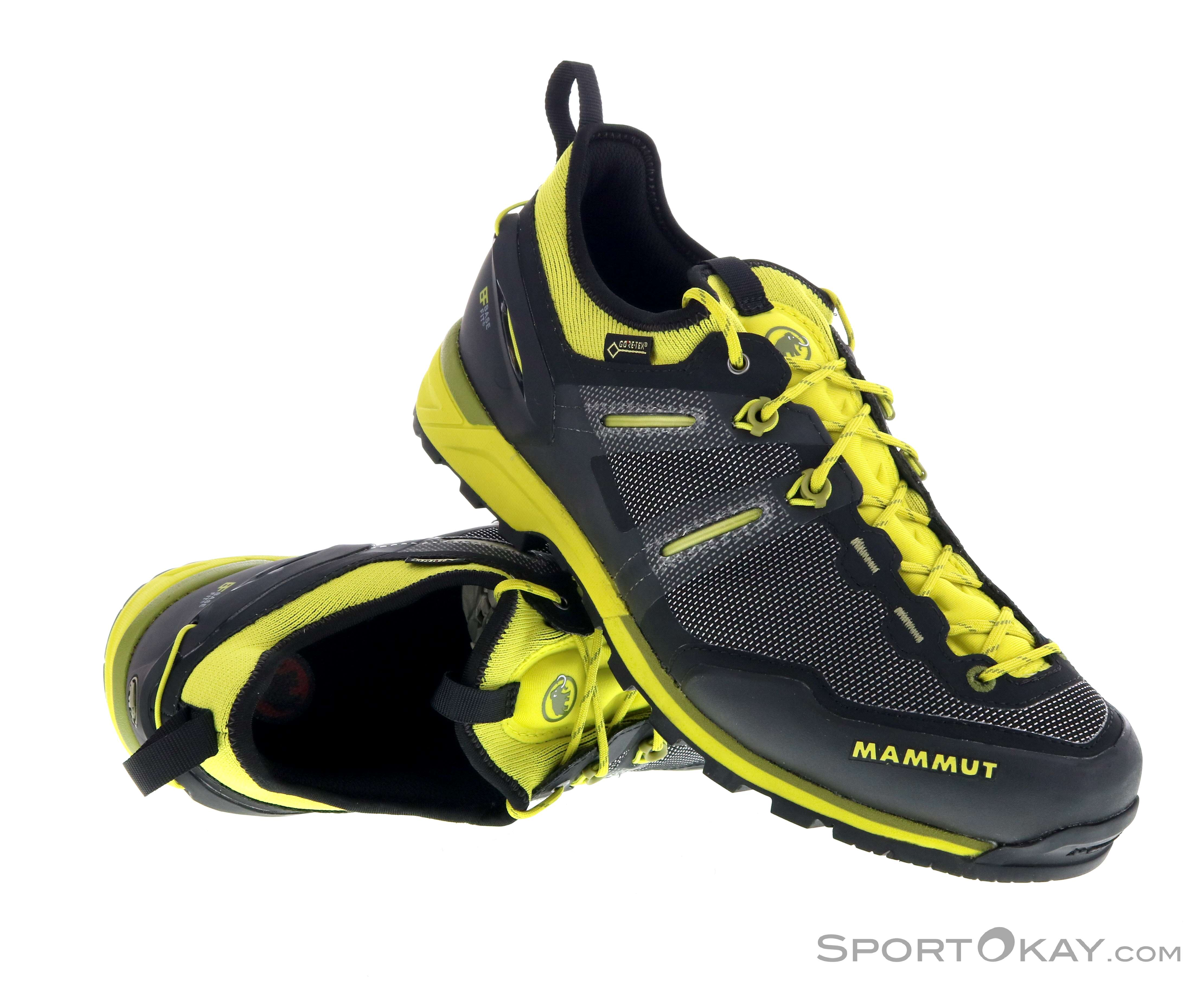 guter Service neue Fotos Billiger Preis Mammut Mammut Alnasca Knit Low GTX Mens Approach Shoes Gore-Tex