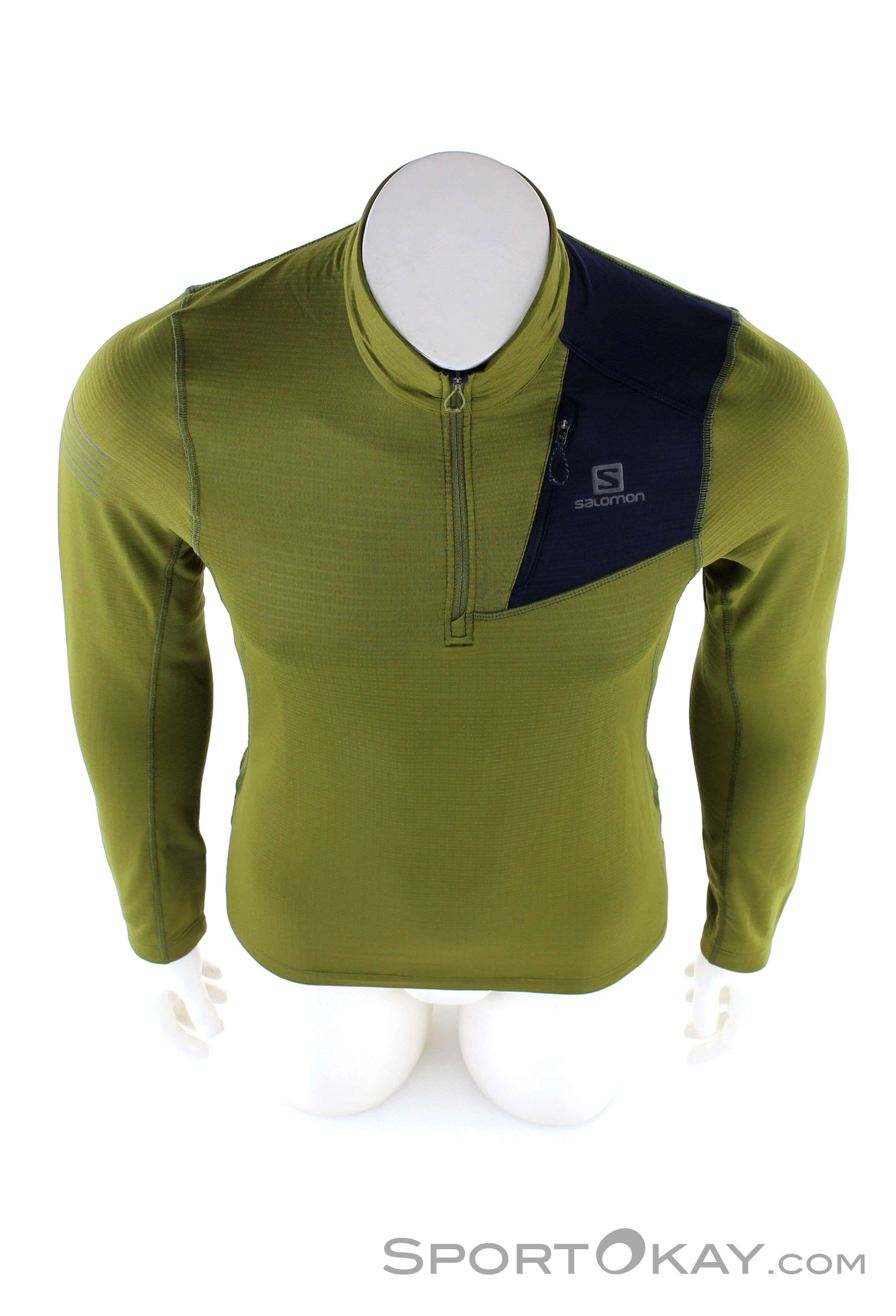 Salomon Salomon Grid Hz Mid Mens Functional Shirt