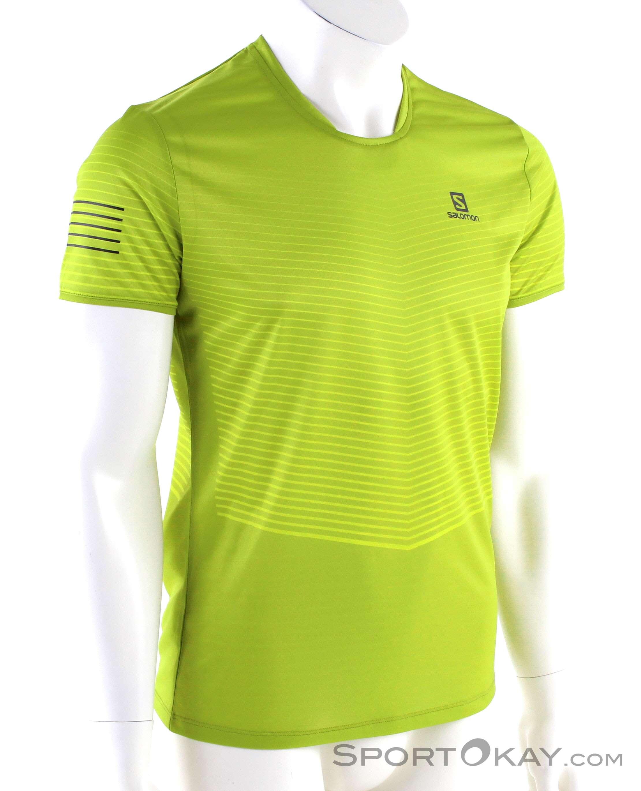 Salomon Sense Tee Mens T Shirt Shirts & T Shirts Fitness