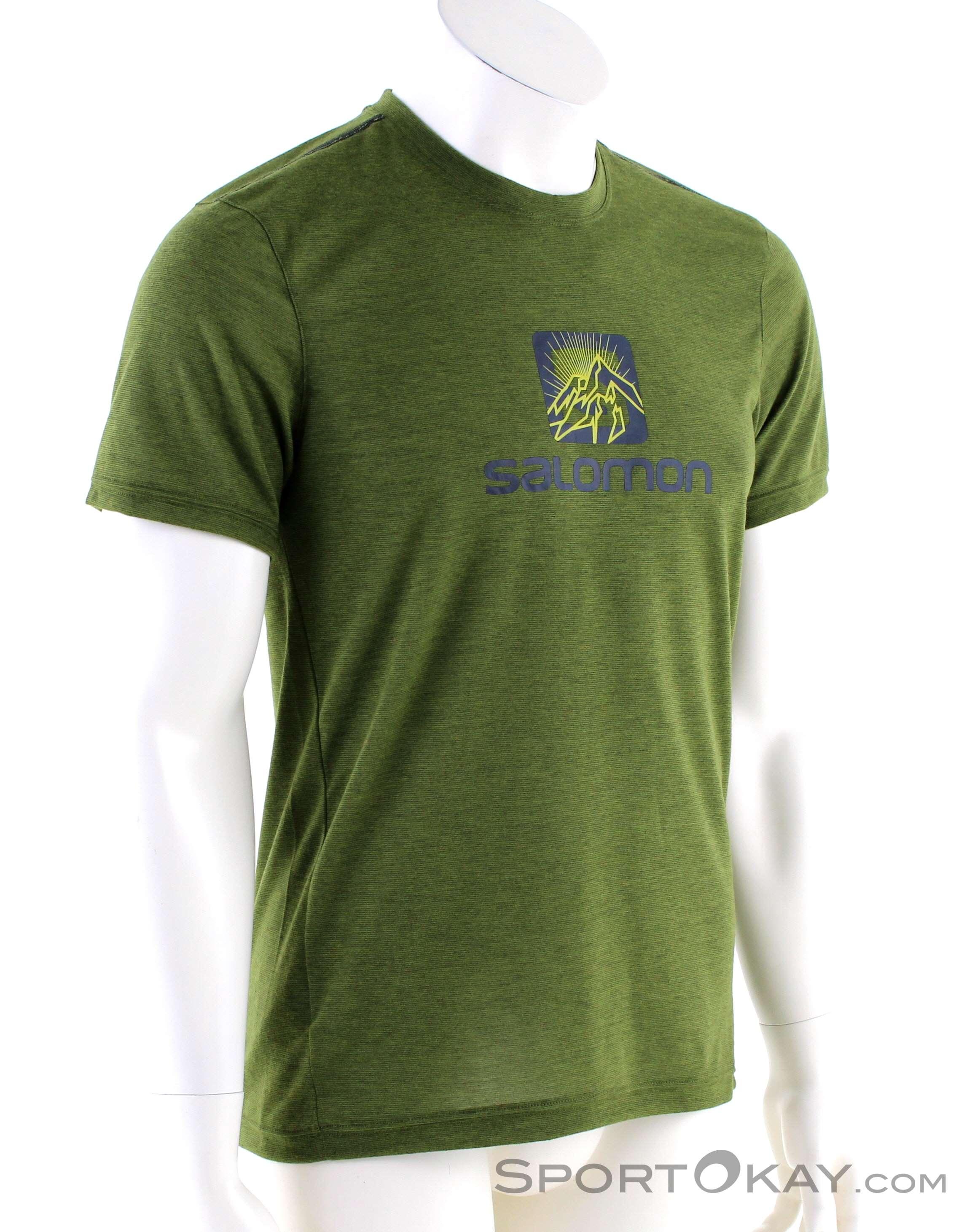 salomon sci fondo escursionismo, Salomon AGILE T shirt