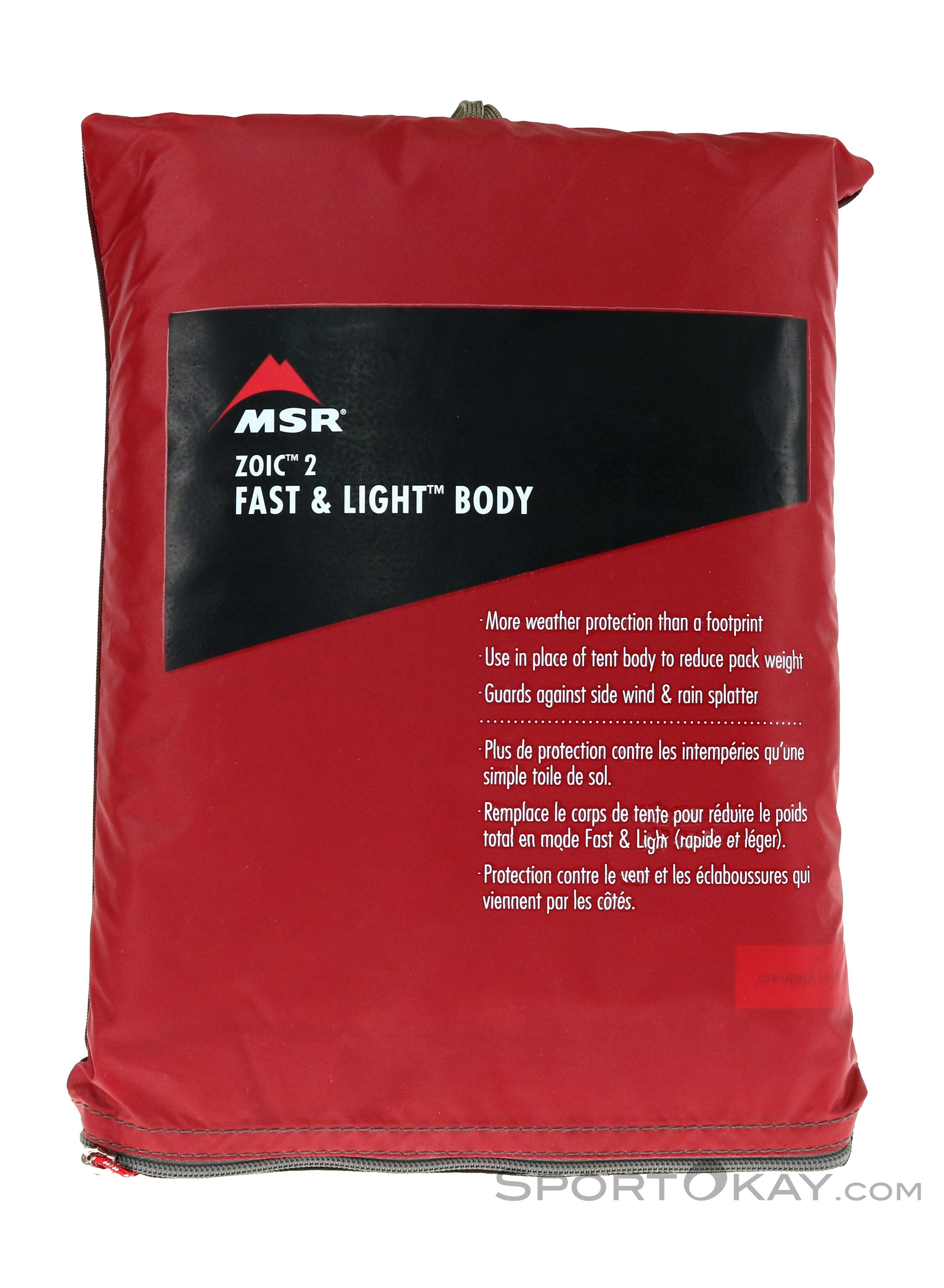 MSR MSR Zoic 2 Fast&Light Body Tent Accessory