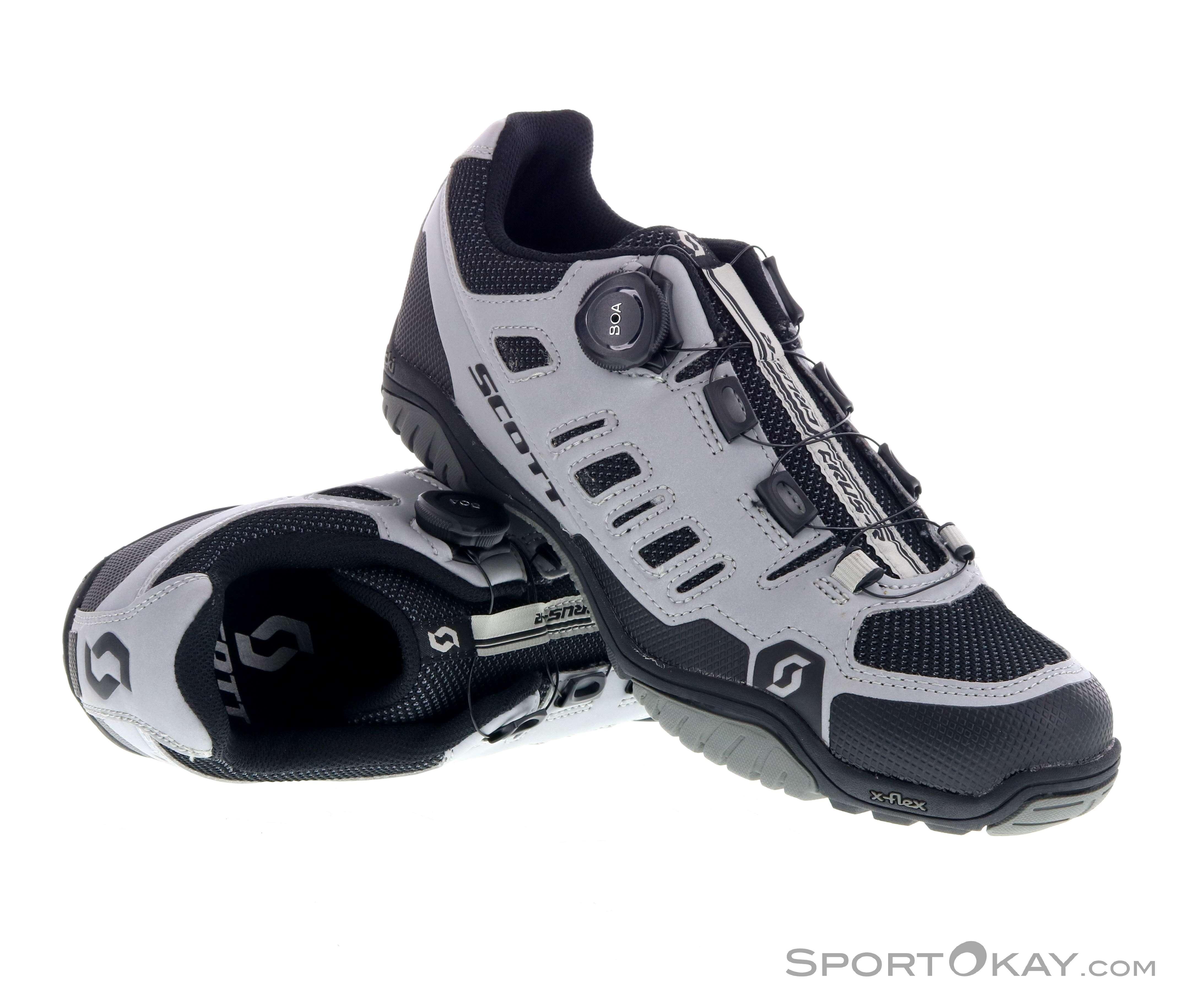 cbab20b1314ecf Scott Sport Crus-R Boa Reflective Mens Biking Shoes - Mountain Bike ...