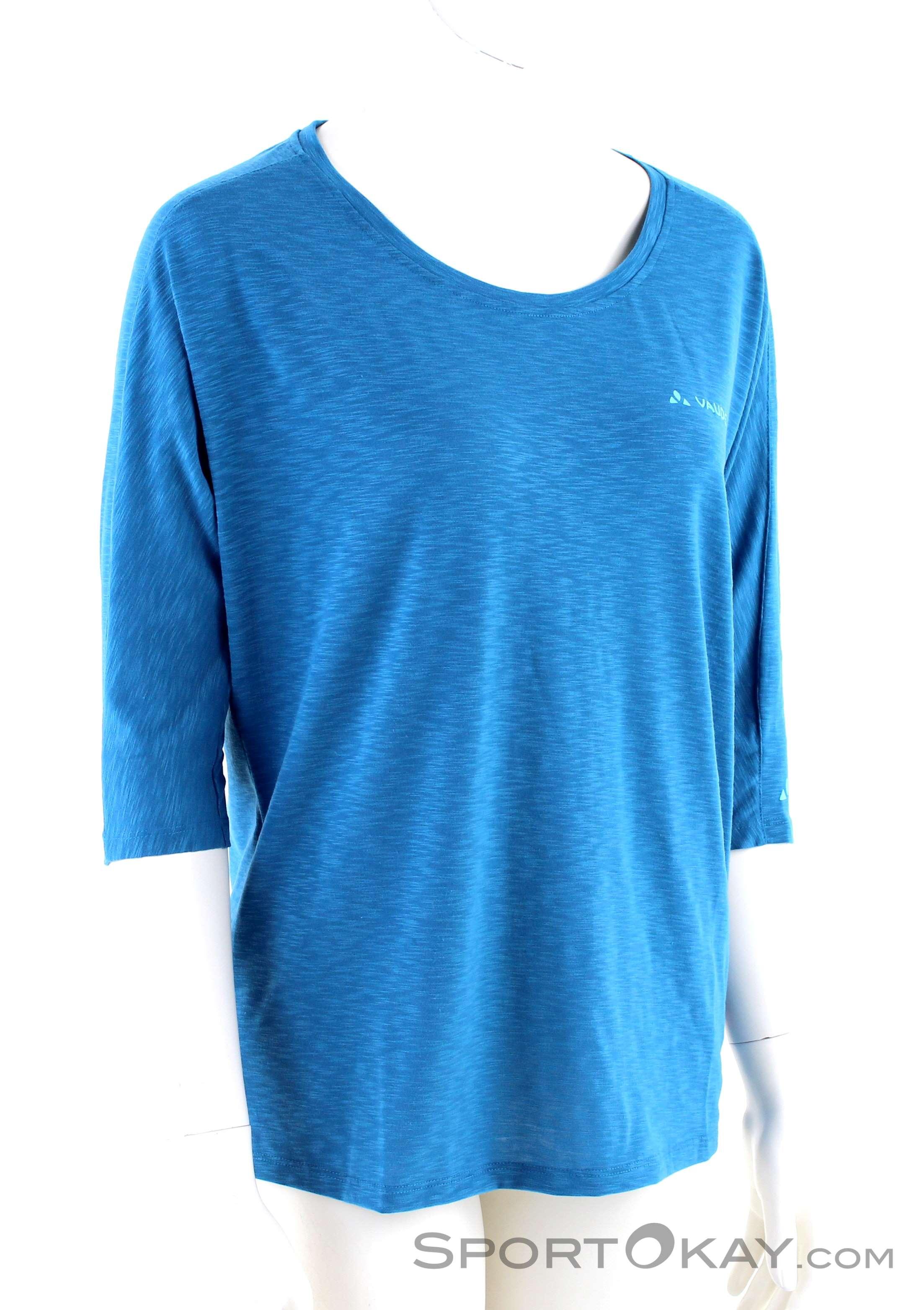 Vaude Damen Womens Skomer 3//4 Shirt T