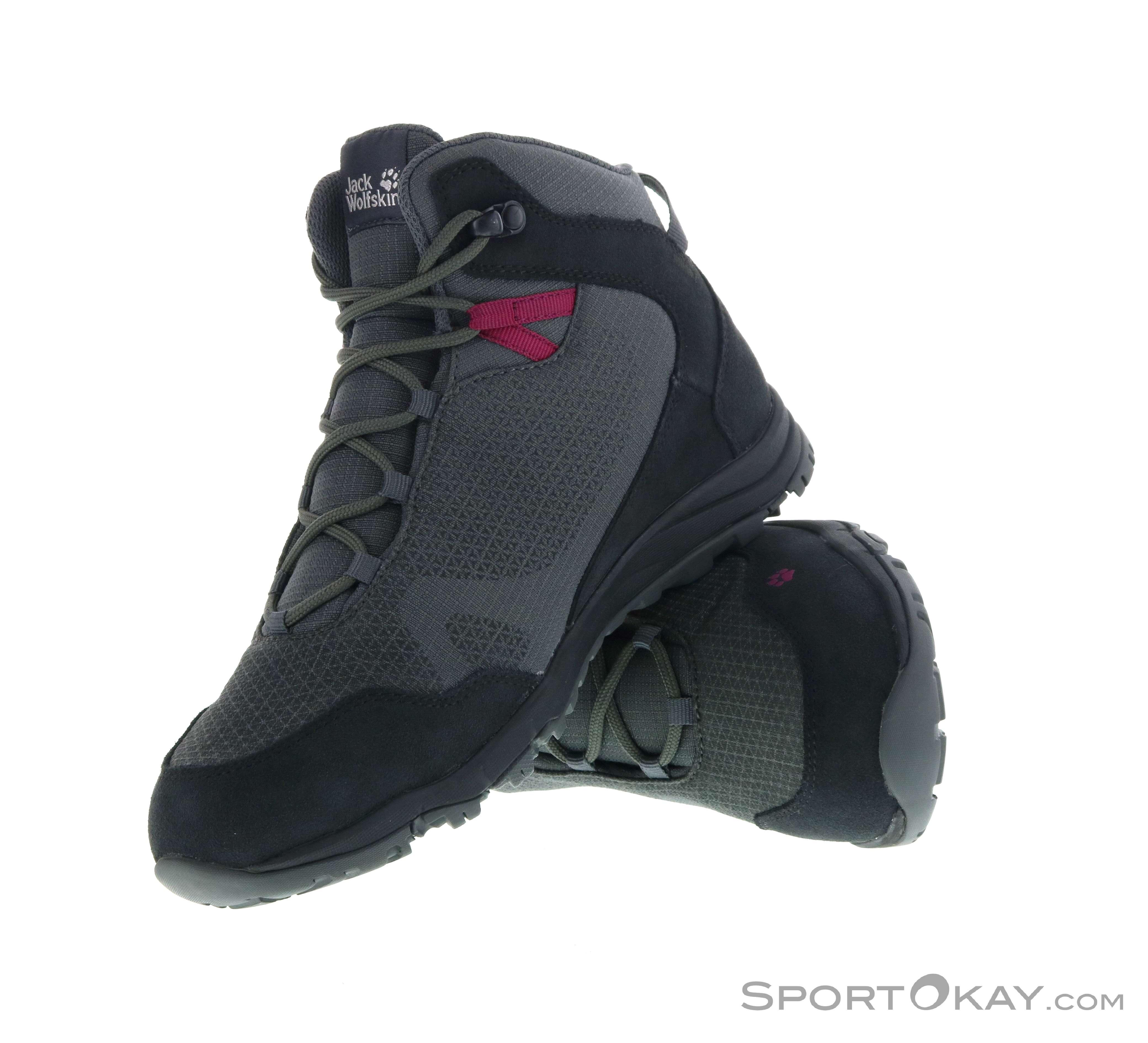 Jack Wolfskin Activate XT Texapore Mid Womens Hiking Boots 3HPdu