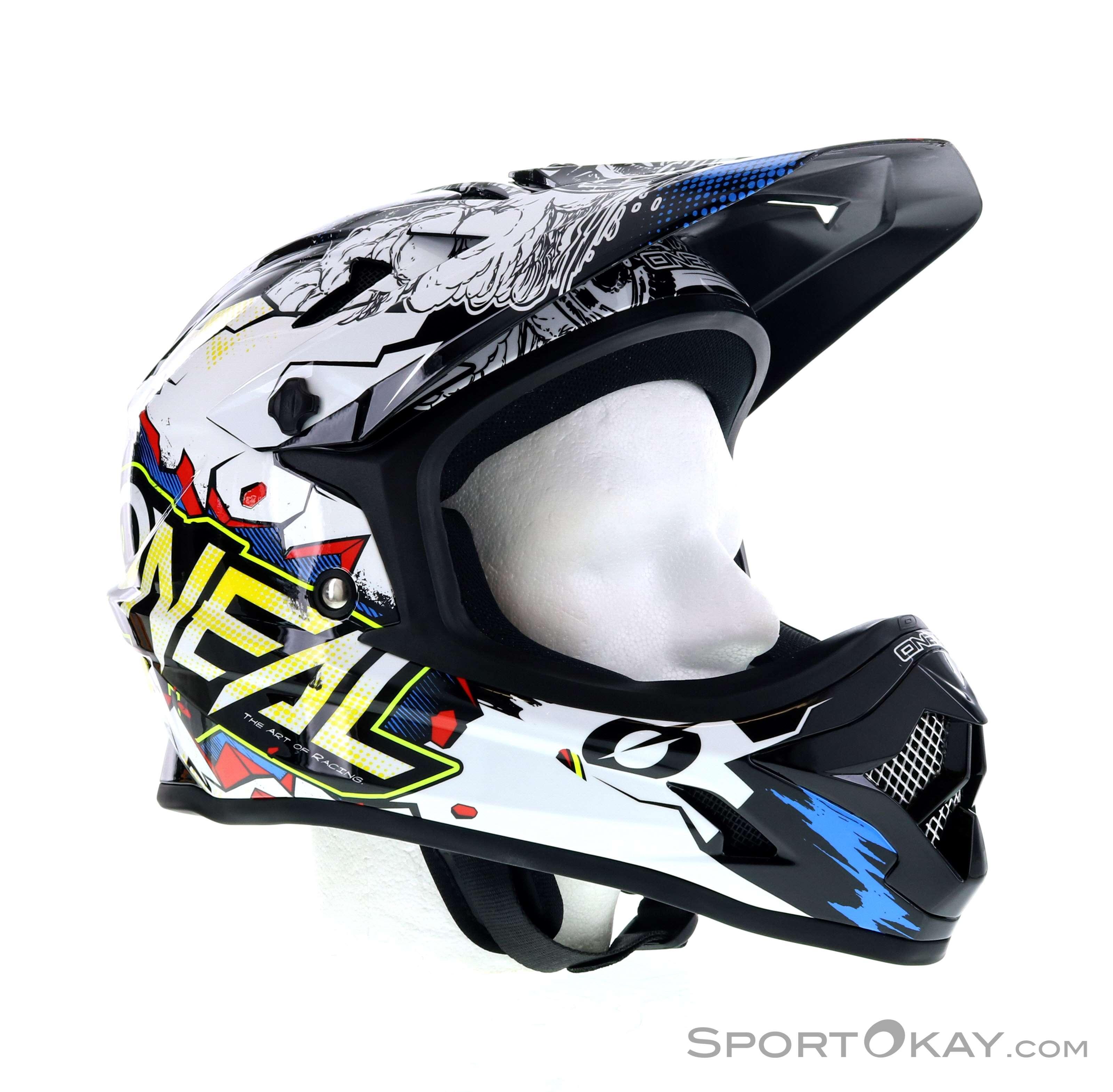 O/'Neal Kinder Fullface Helm Backflip Villain Downhill Freeride Mountainbike MTB