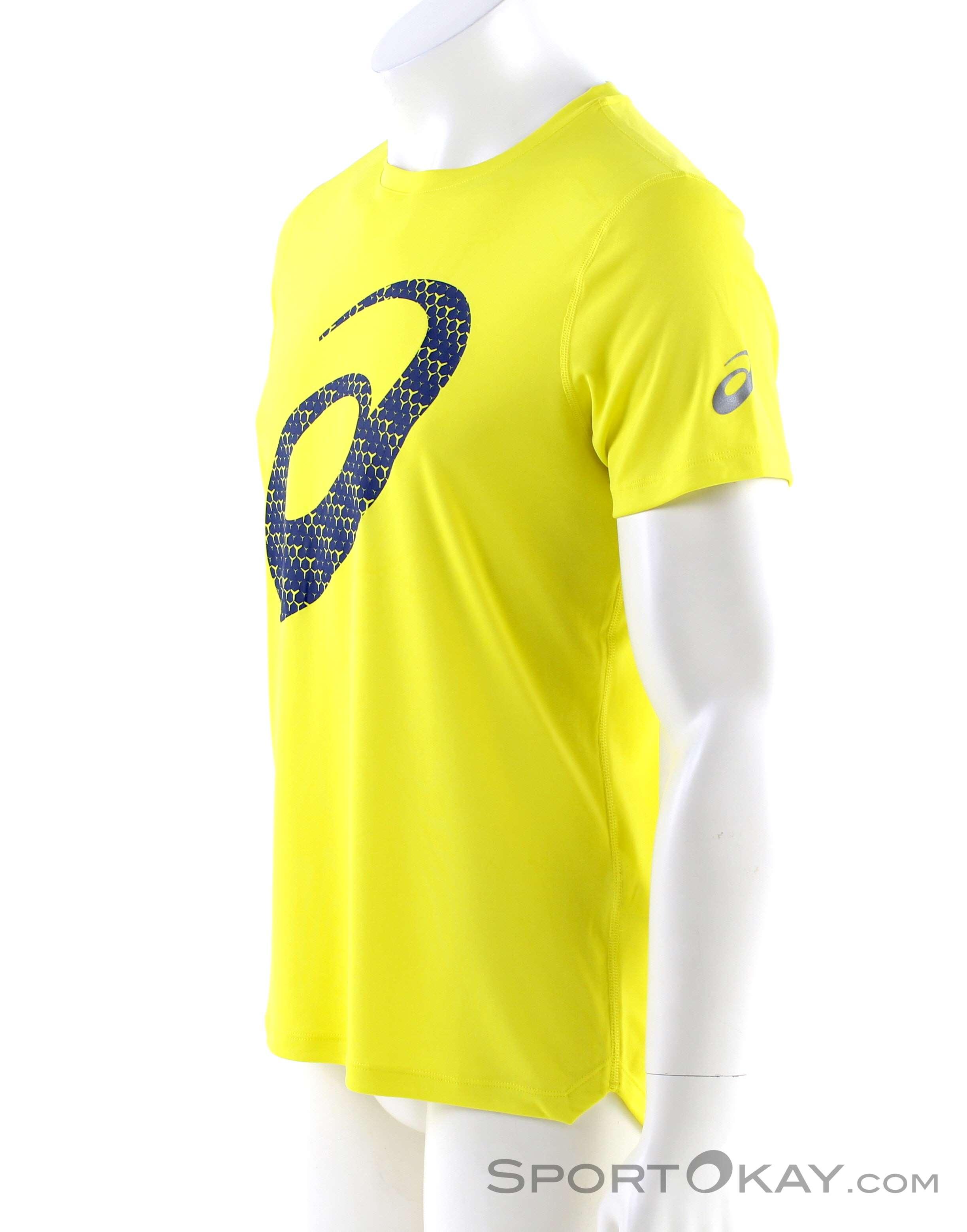 Asics Asics Silver Graphic SS Mens T Shirt