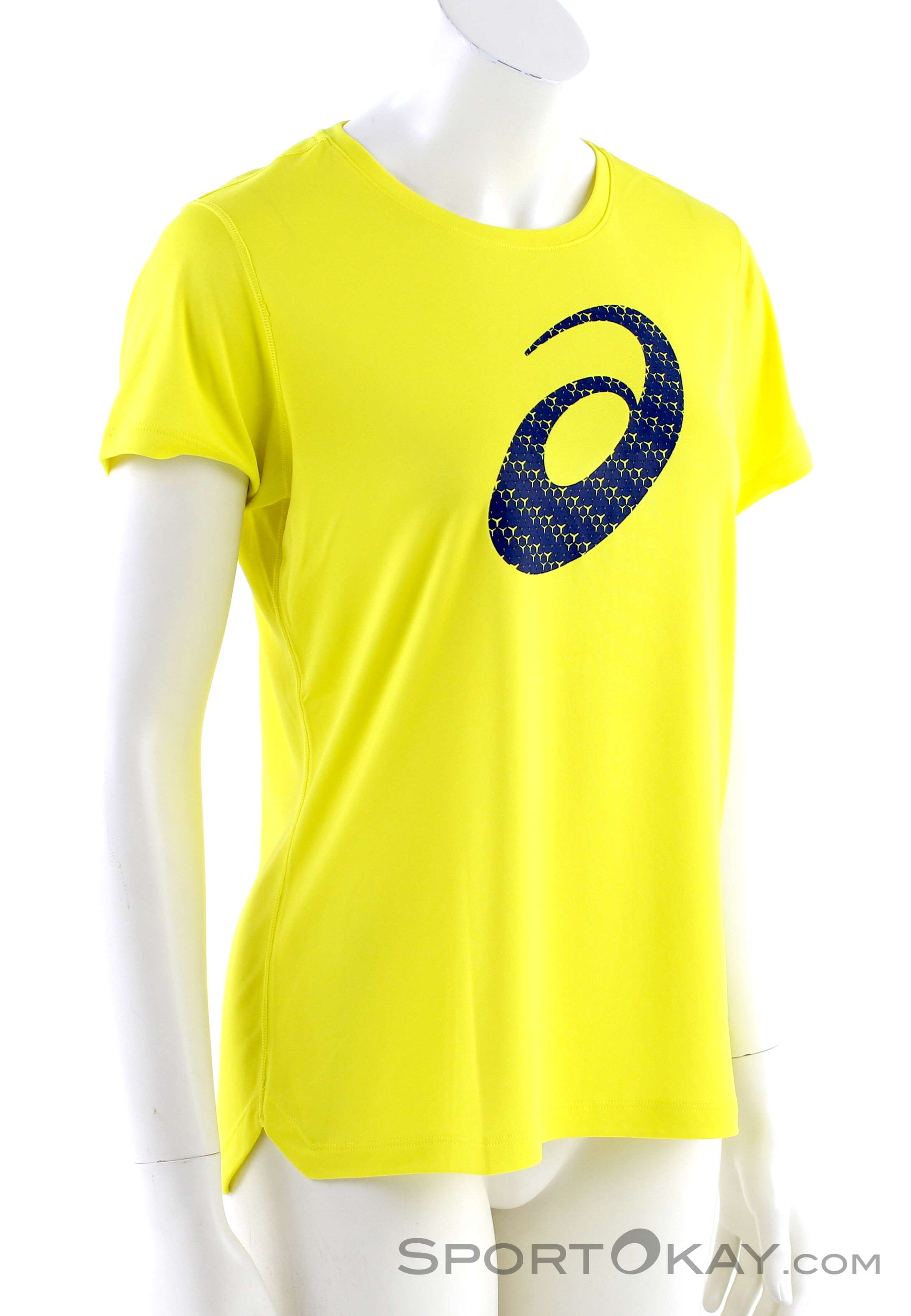 Asics Asics Silver Graphic SS Womens T Shirt