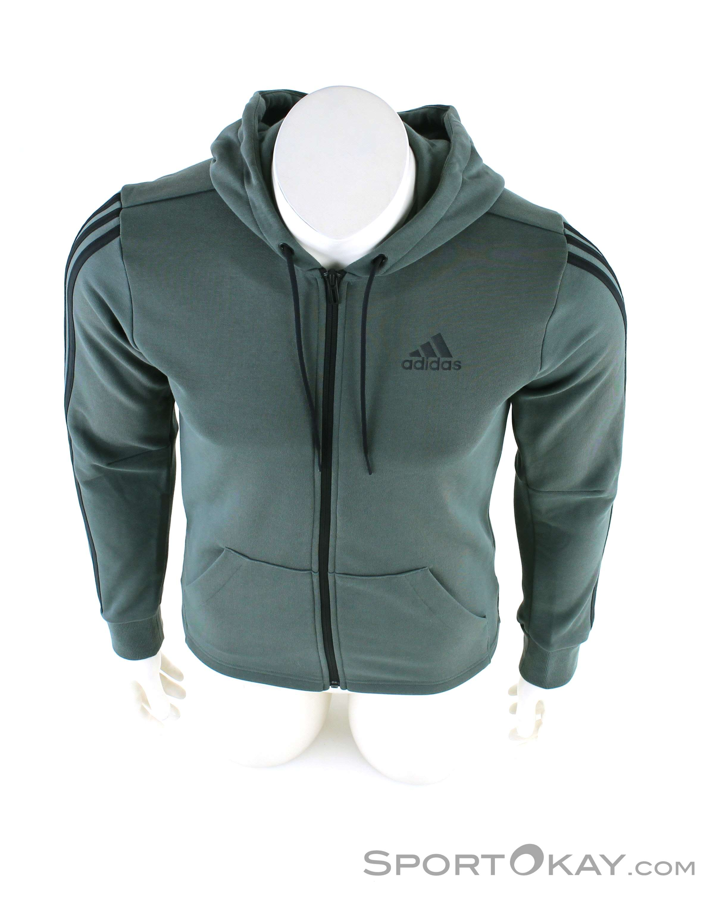 adidas adidas Must Have 3 Stripes Mens Leisure Sweater
