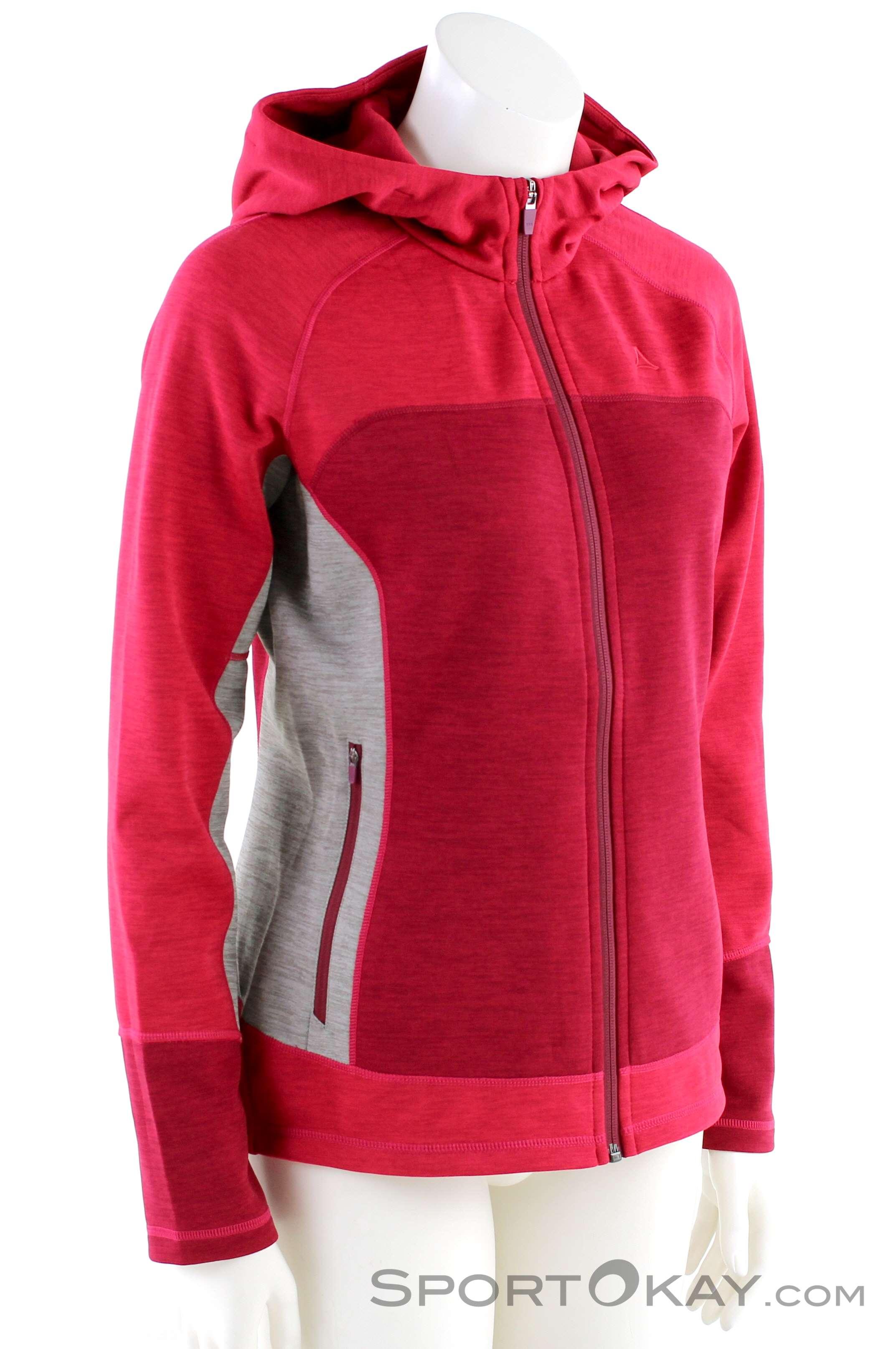 Schöffel Fleece Hoody Trentino Womens Outdoor Sweater