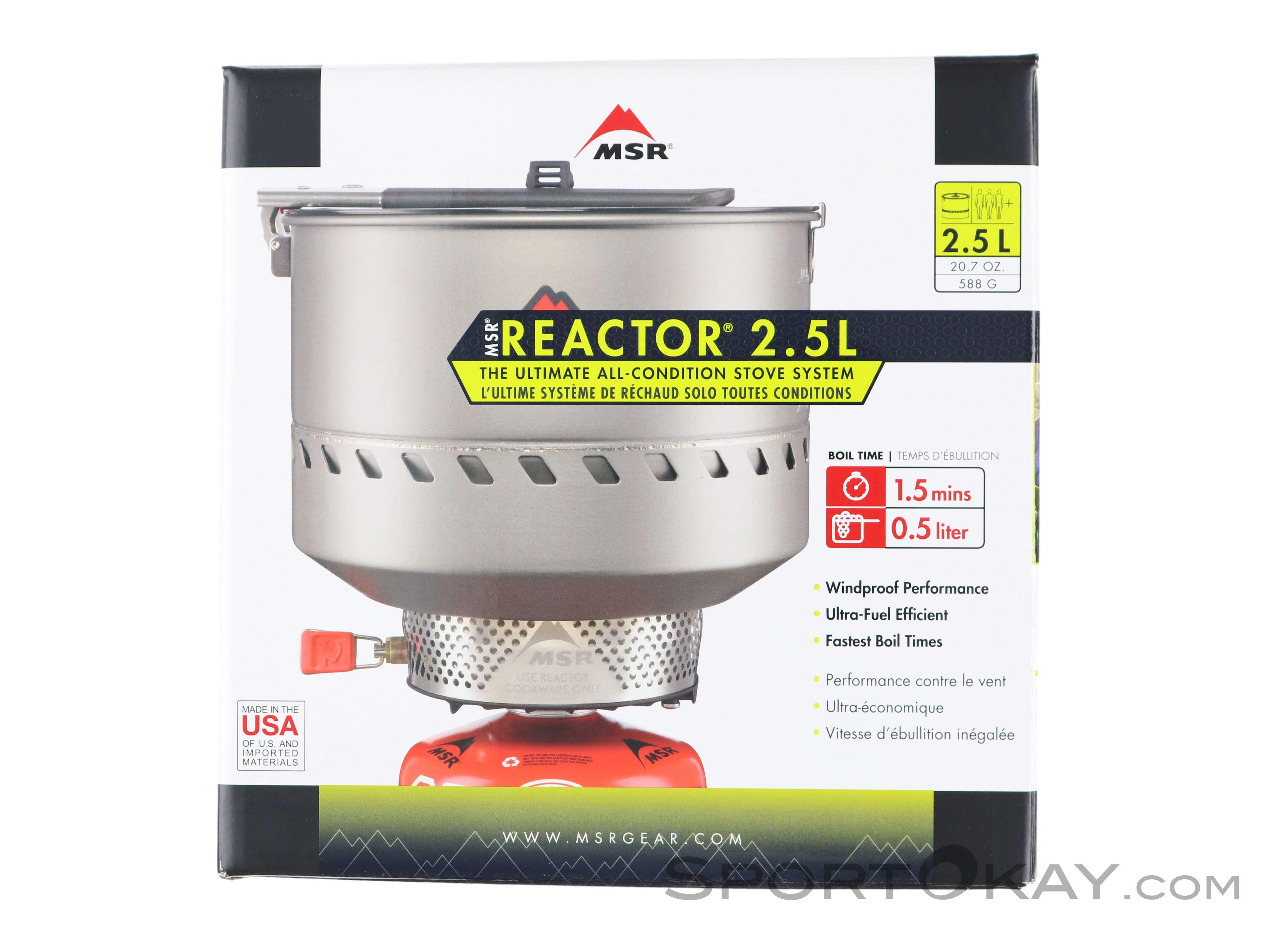 MSR Coffee Press Kit For Reactor Stove Mens Unisex  New