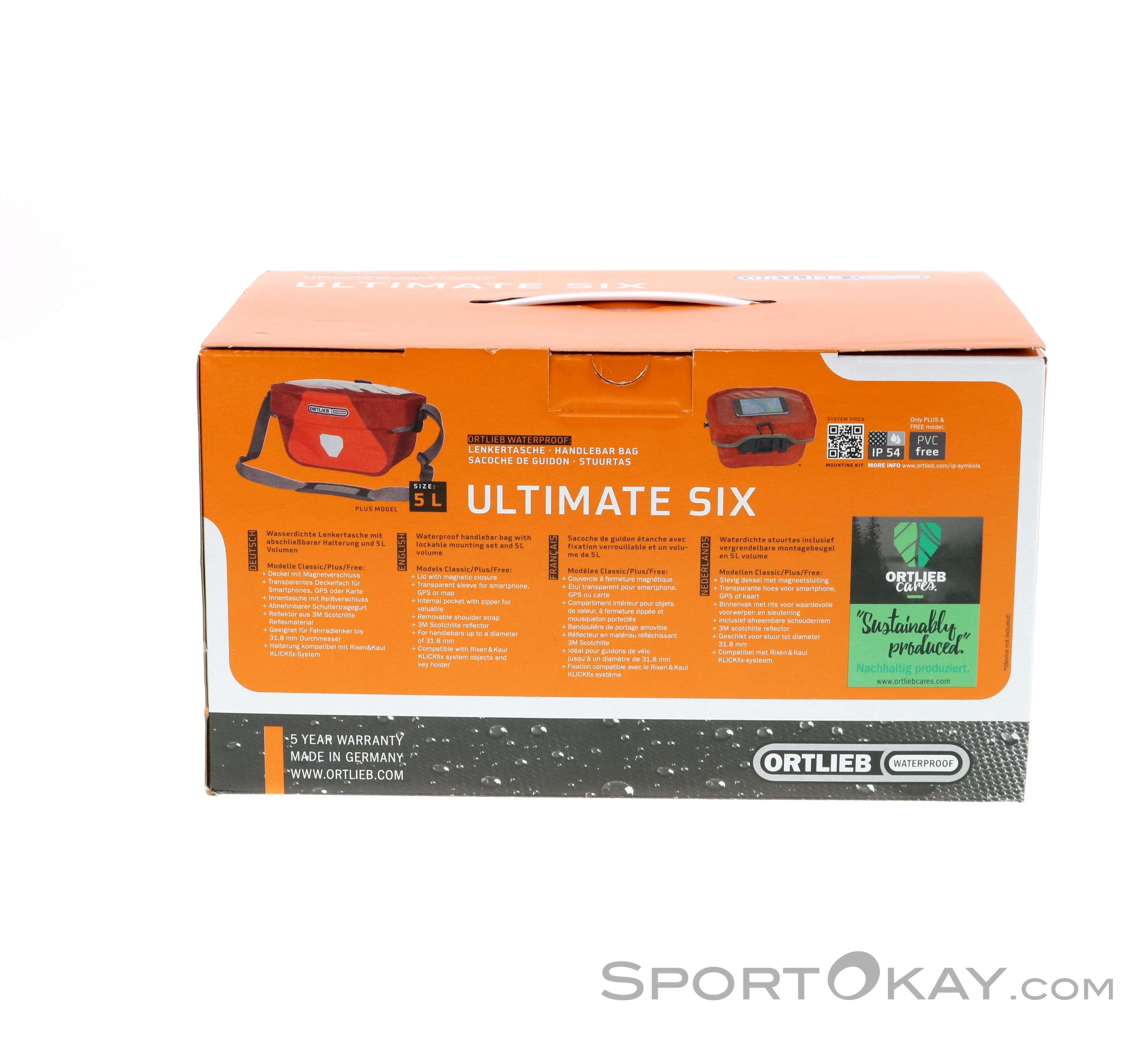 Ortlieb Ultimate Six S Classic 5l Bike Bag