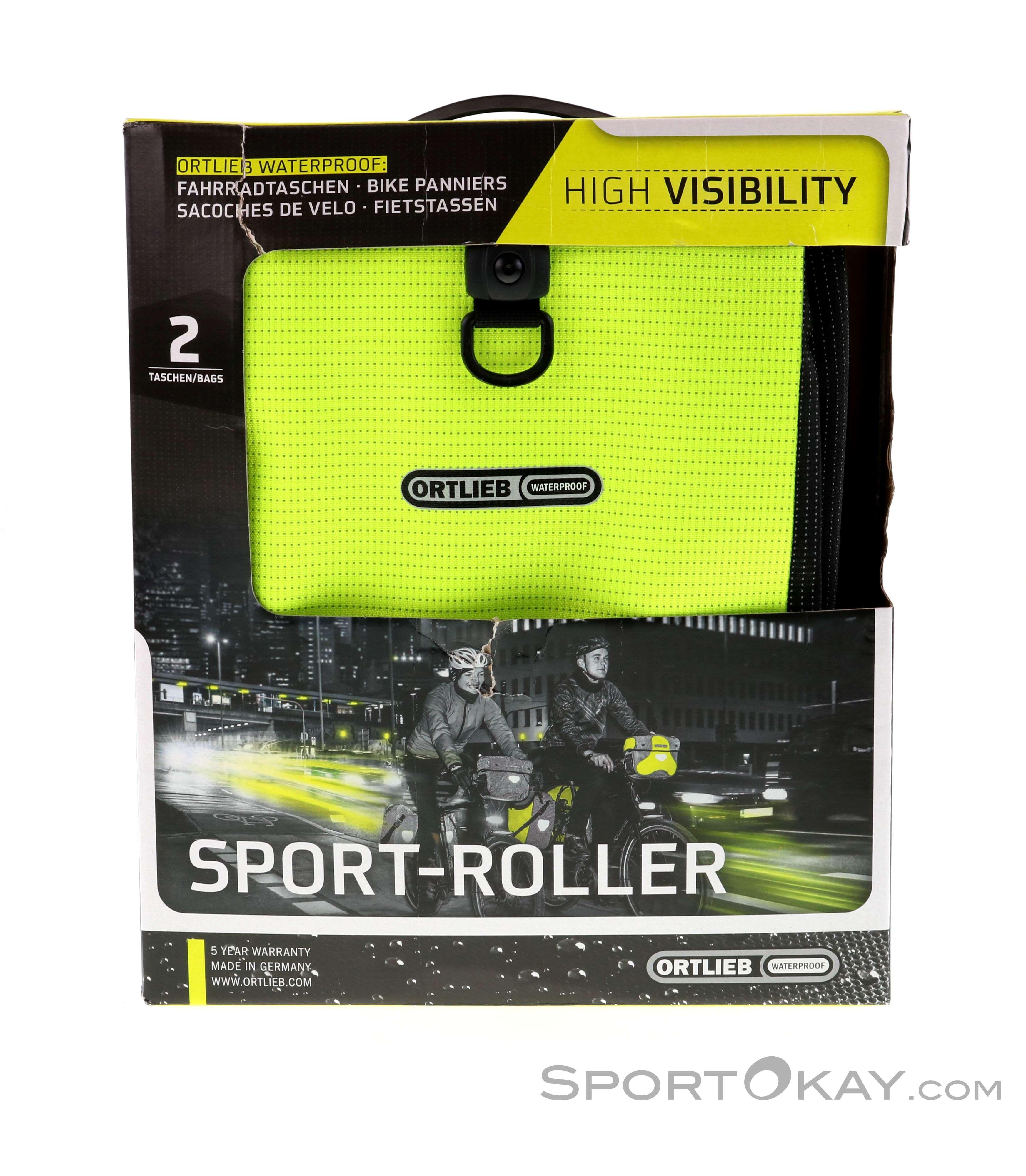 Ortlieb Ortlieb Sport Roller High Visibility 12,5l Fahrradtasche