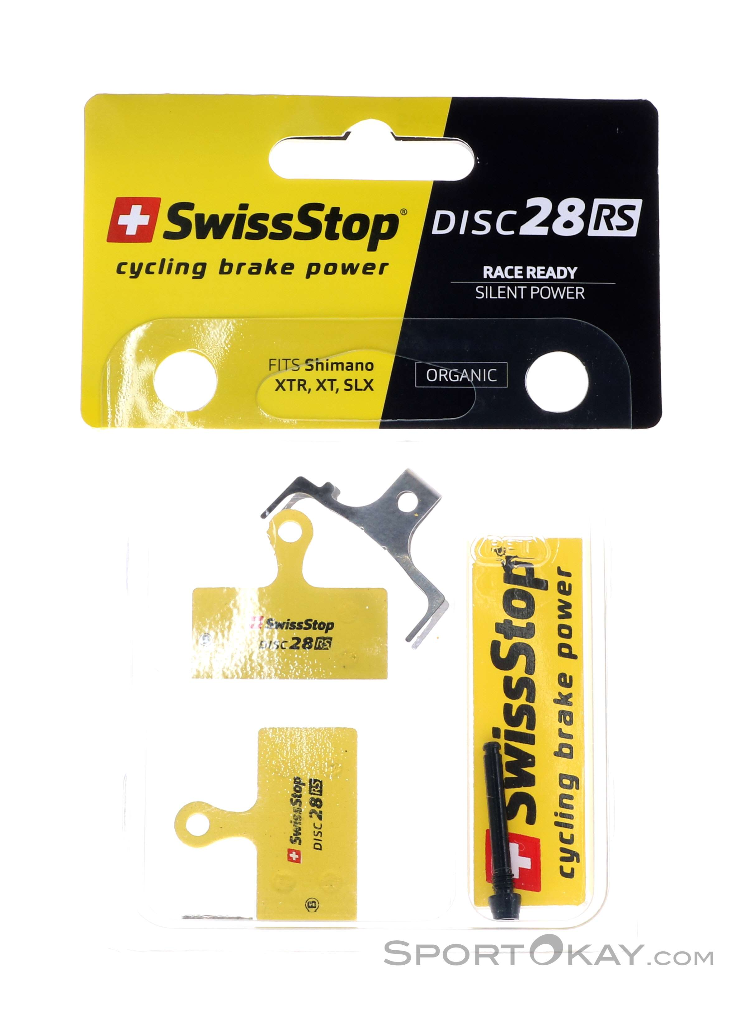 New SwissStop Disc 28 RS Organic Compound Brake Pads REVER FSA Shimano