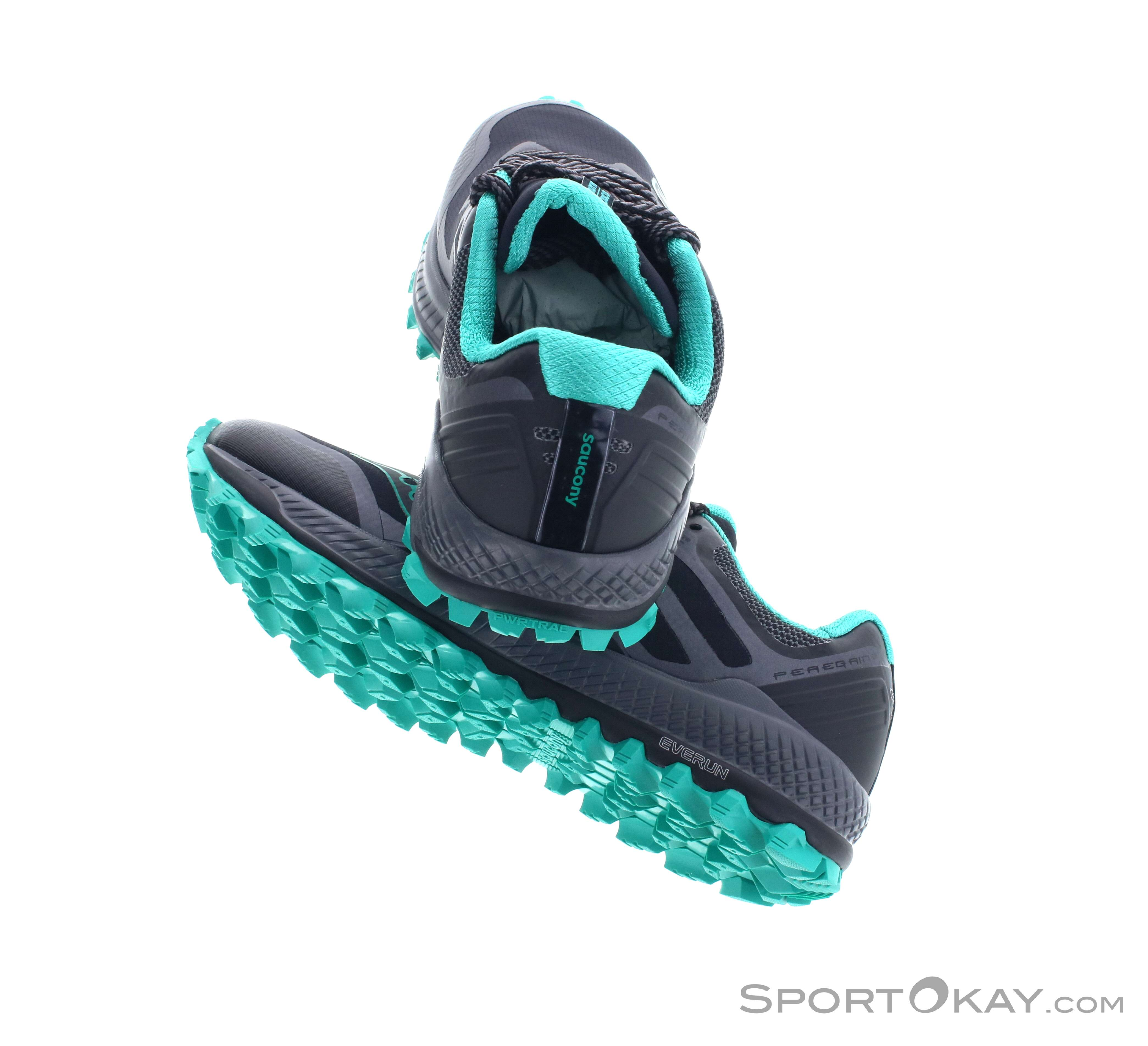 Saucony Saucony Peregrine 8 GTX Womens Trail Running Shoes Gore Tex