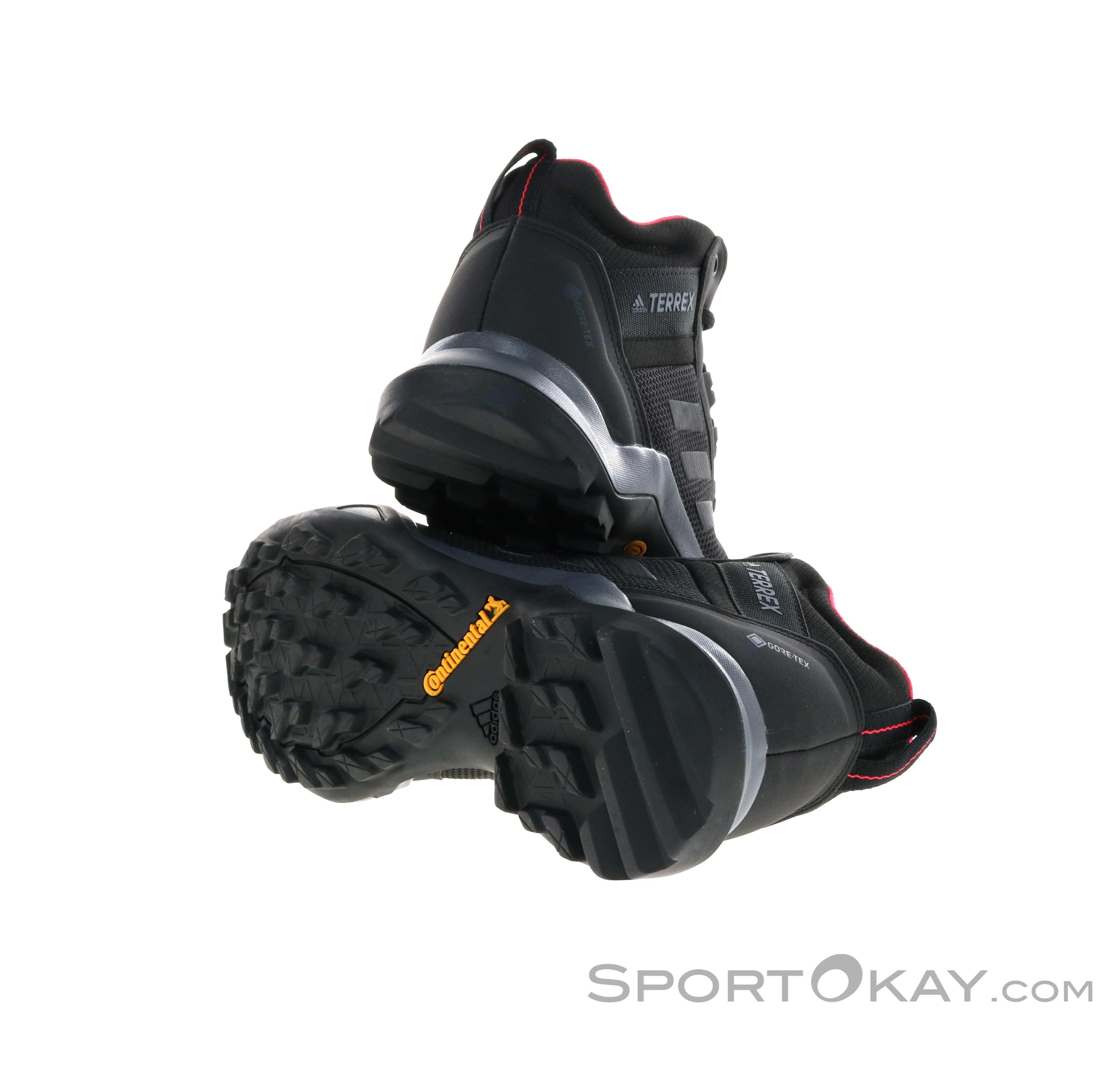 adidas adidas Terrex AX3 Mid GTX Womens Hiking Boots Gore Tex
