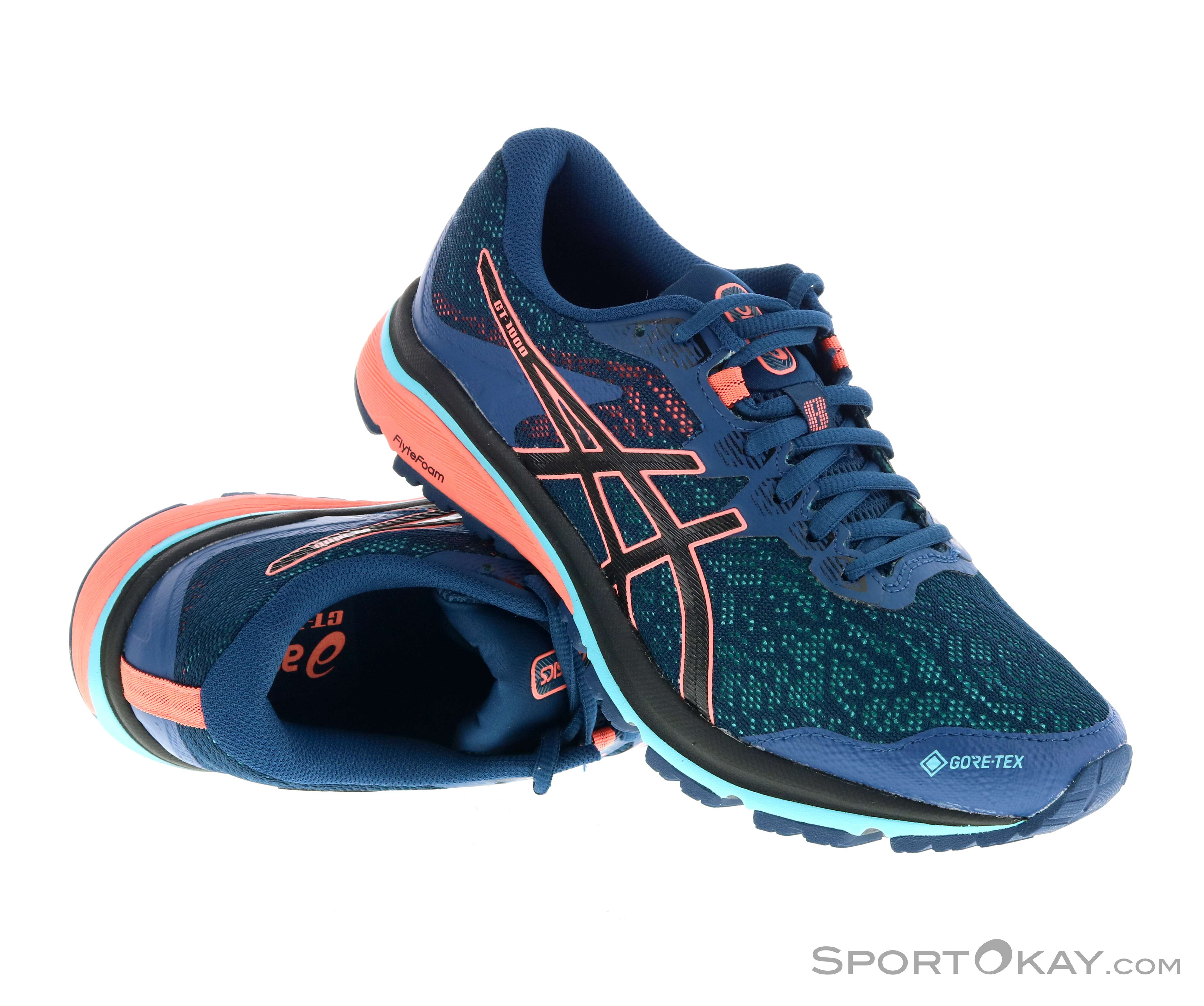 Asics Asics GT-1000 8 G-TX Womens Running Shoes Gore-Tex