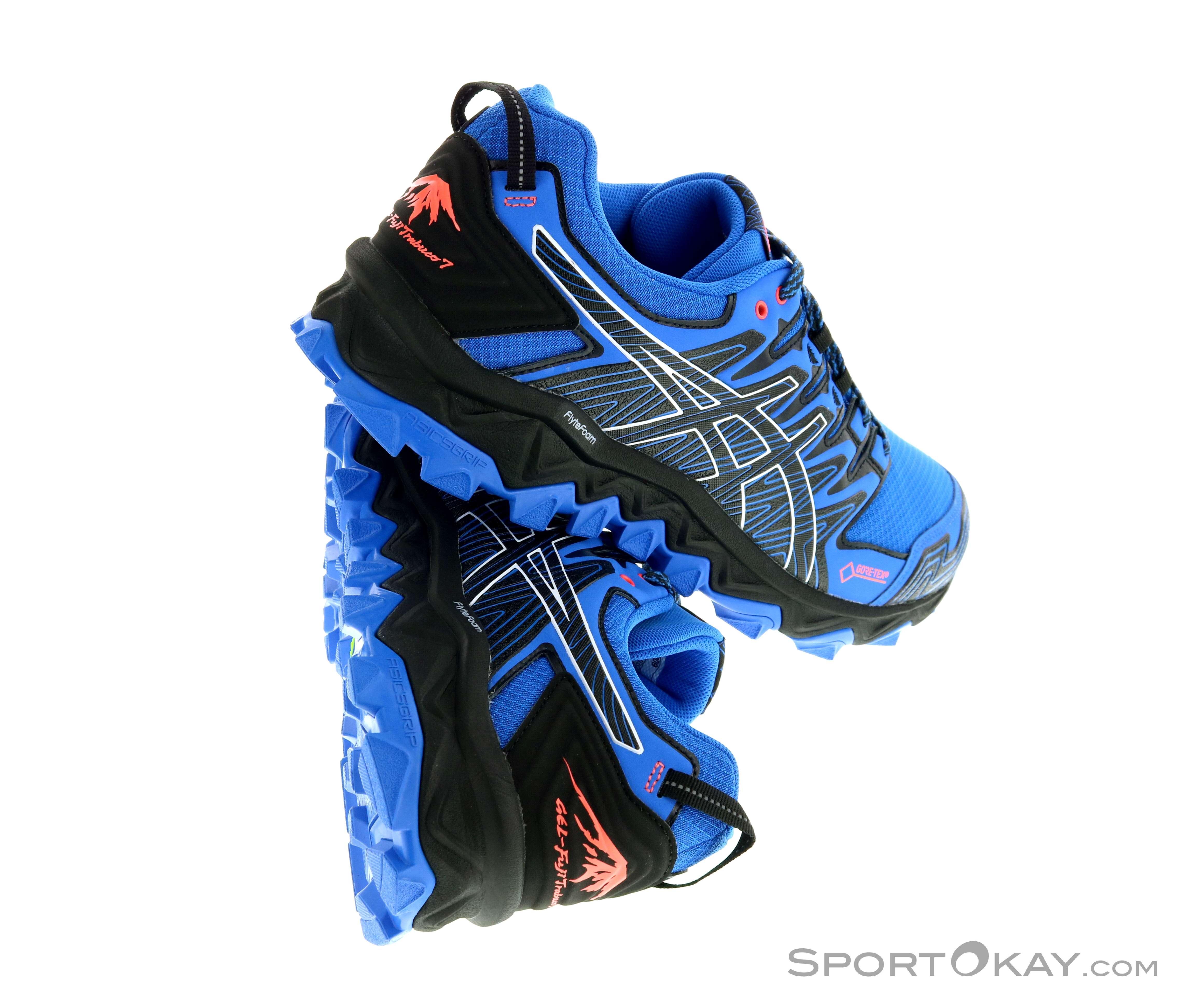 Asics Asics Fujitrabuco 7 GTX Mens Trail Running Shoes Gore Tex