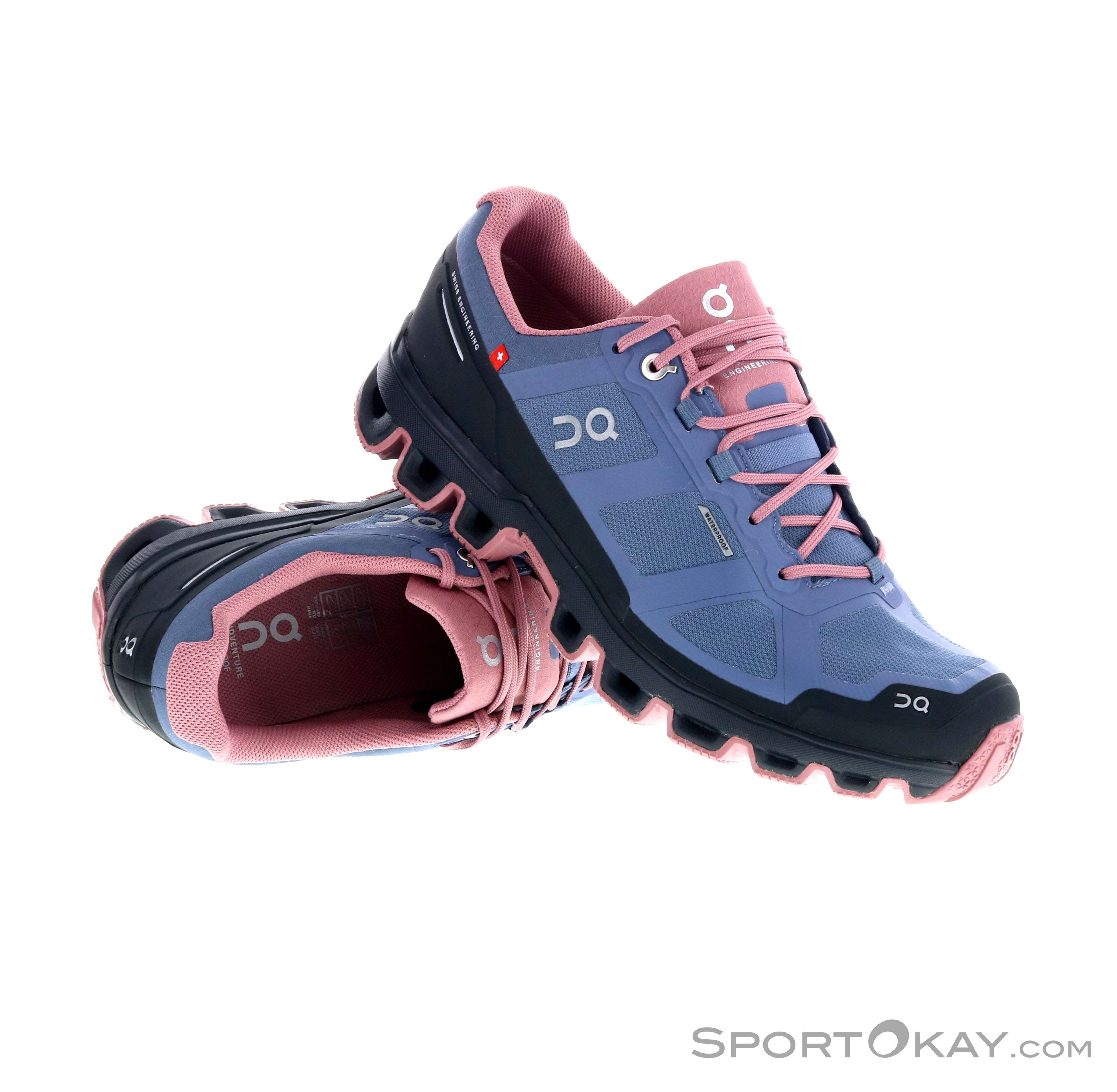 watch 3c3b0 28b0c On On Cloudventure Waterproof Womens Trail Running Shoes