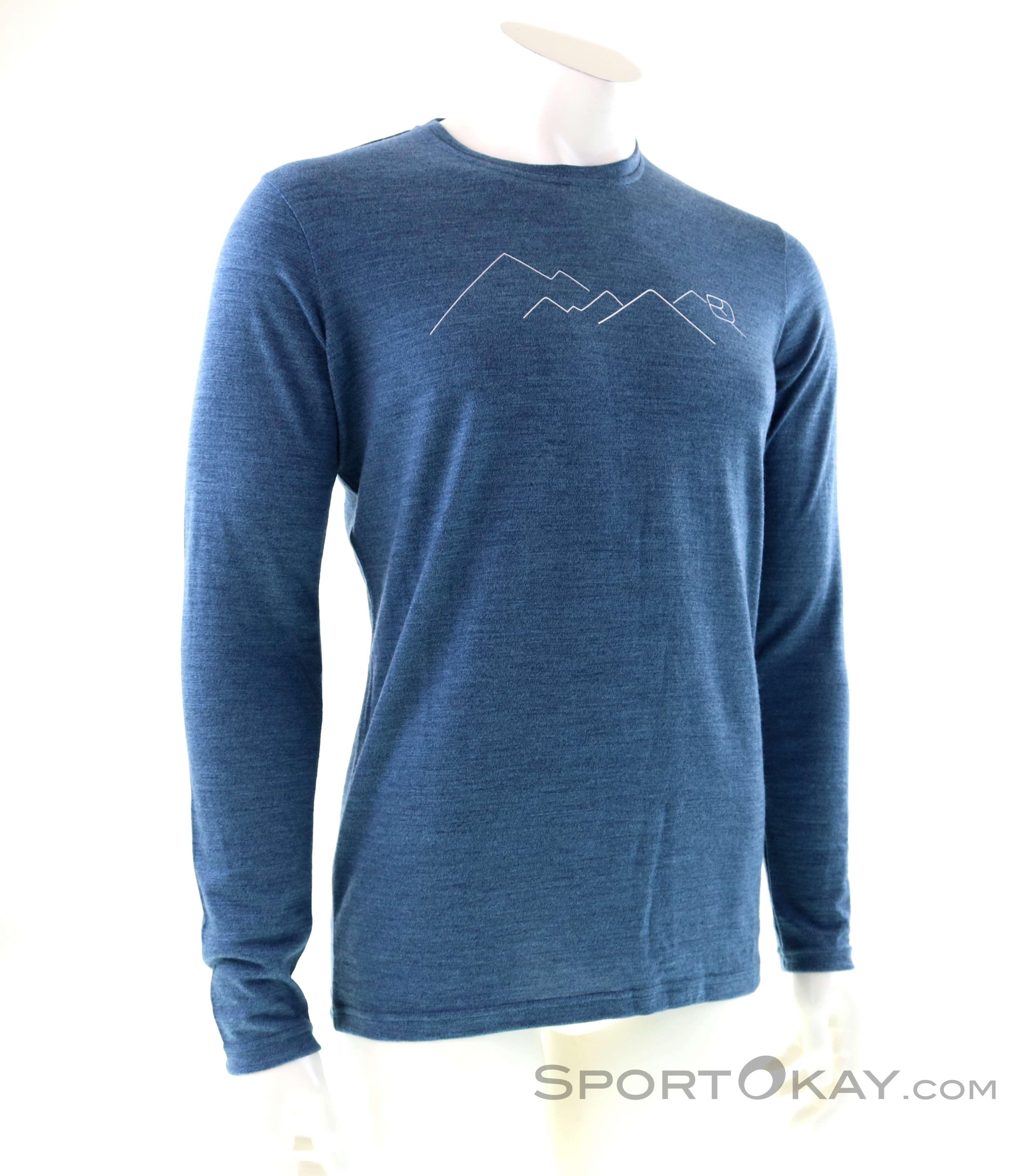 Ortovox LS merino T-shirt 2xl man