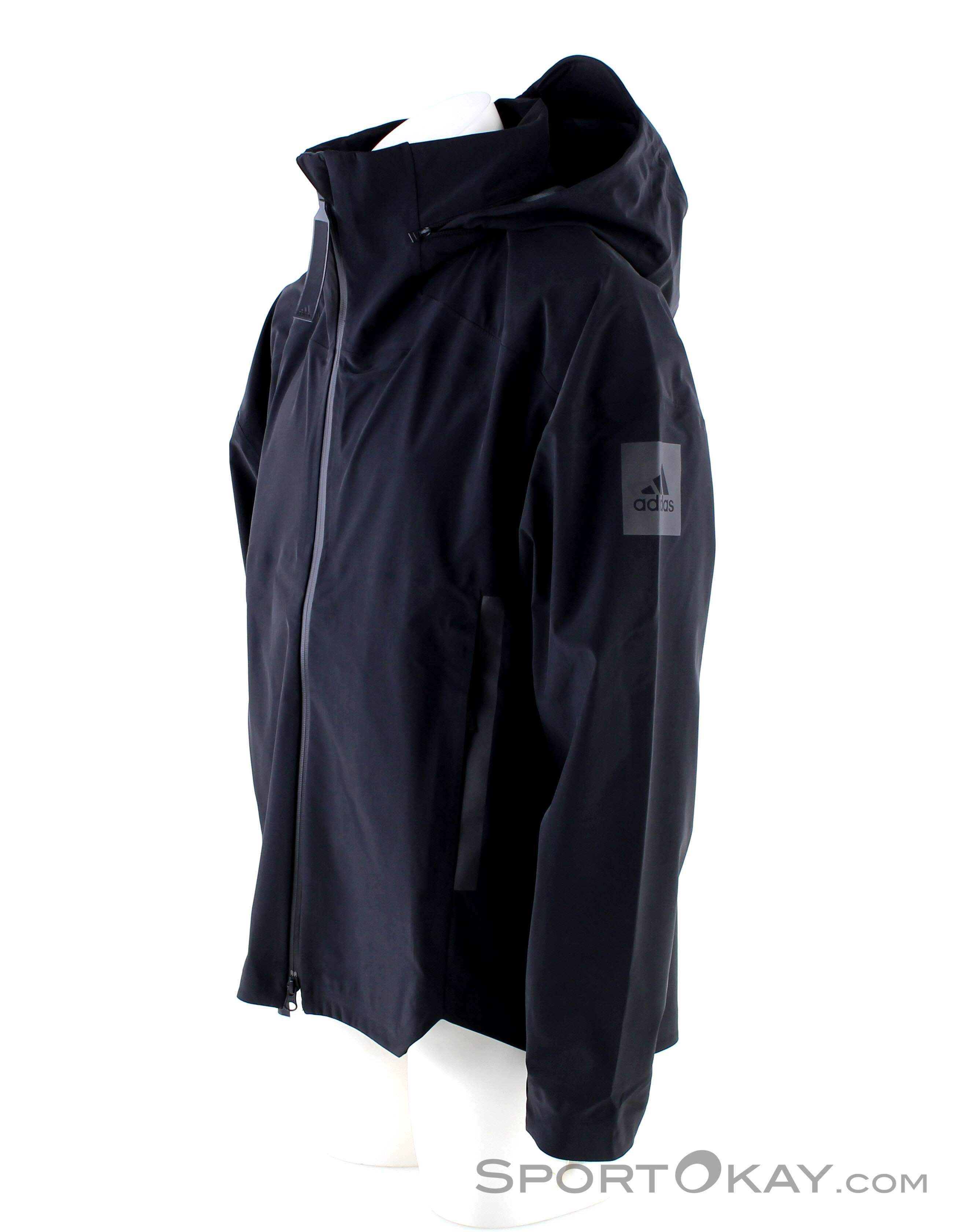 adidas Myshelter Mens Rain Jacket Jackets Outdoor