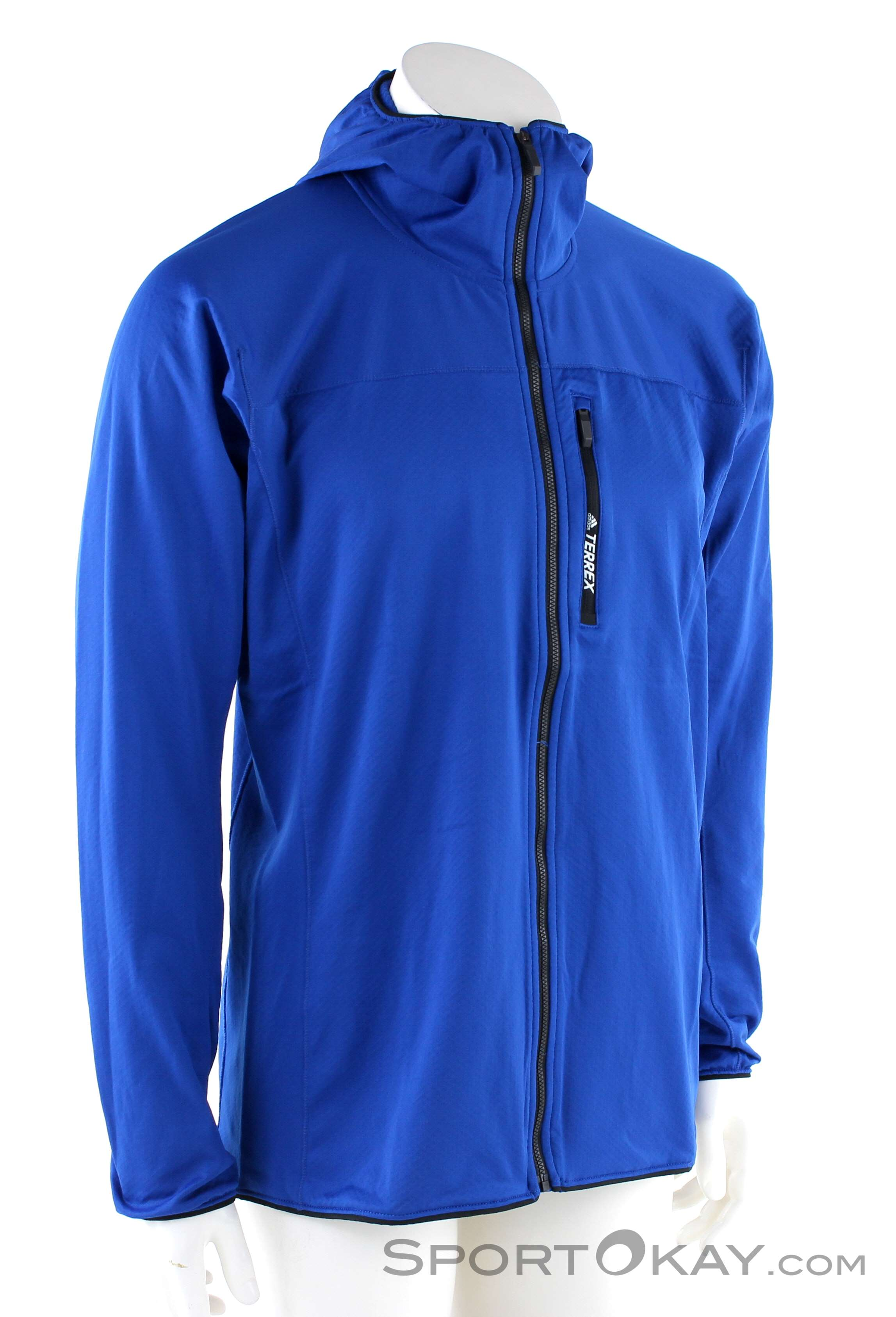 estera paquete Obediencia  adidas Trace Ho Fi Mens Running Jacket - Jackets - Running Clothing -  Running - All