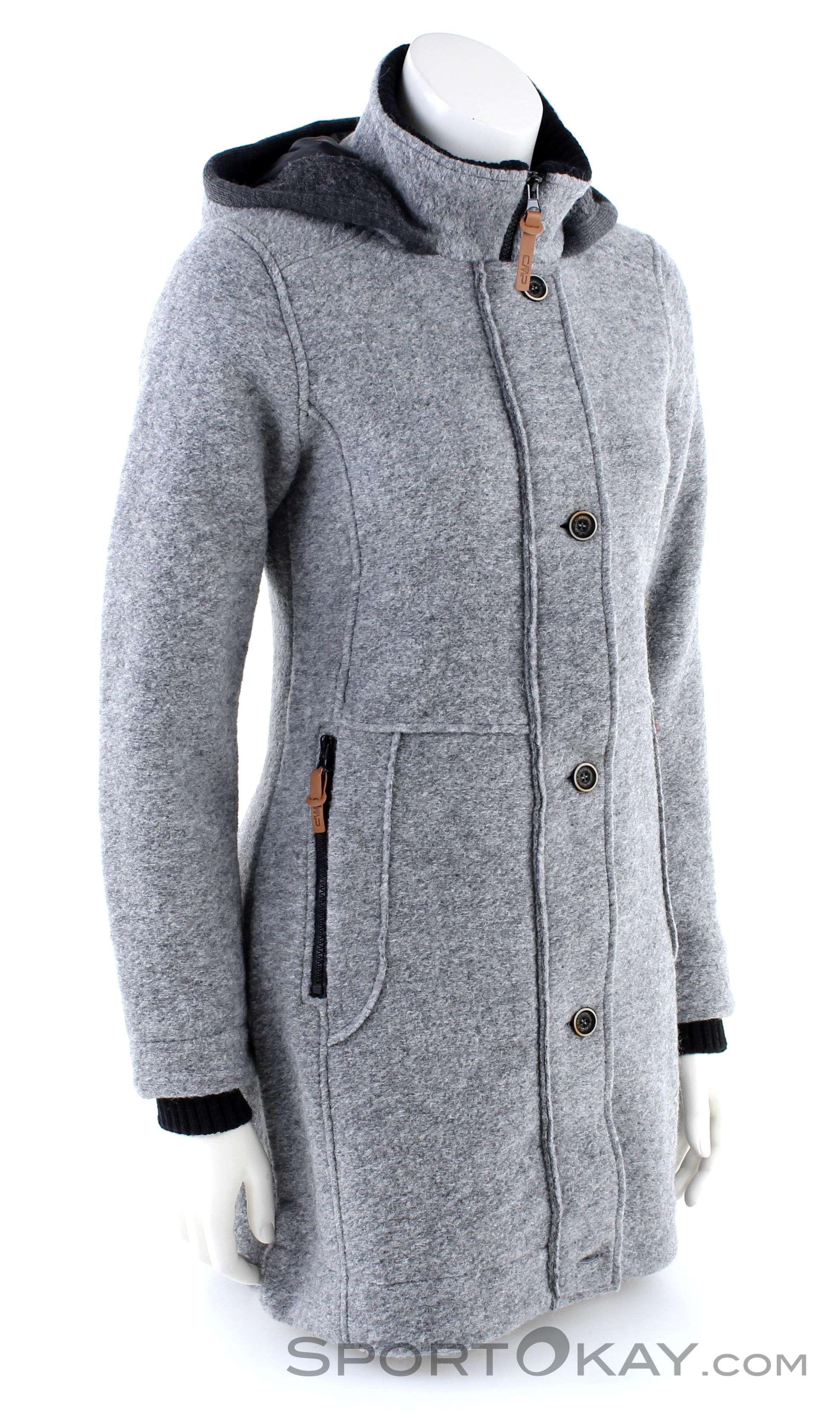 adidas Neo Wool Long Jacket Women's Winter Coat Jacket Wool