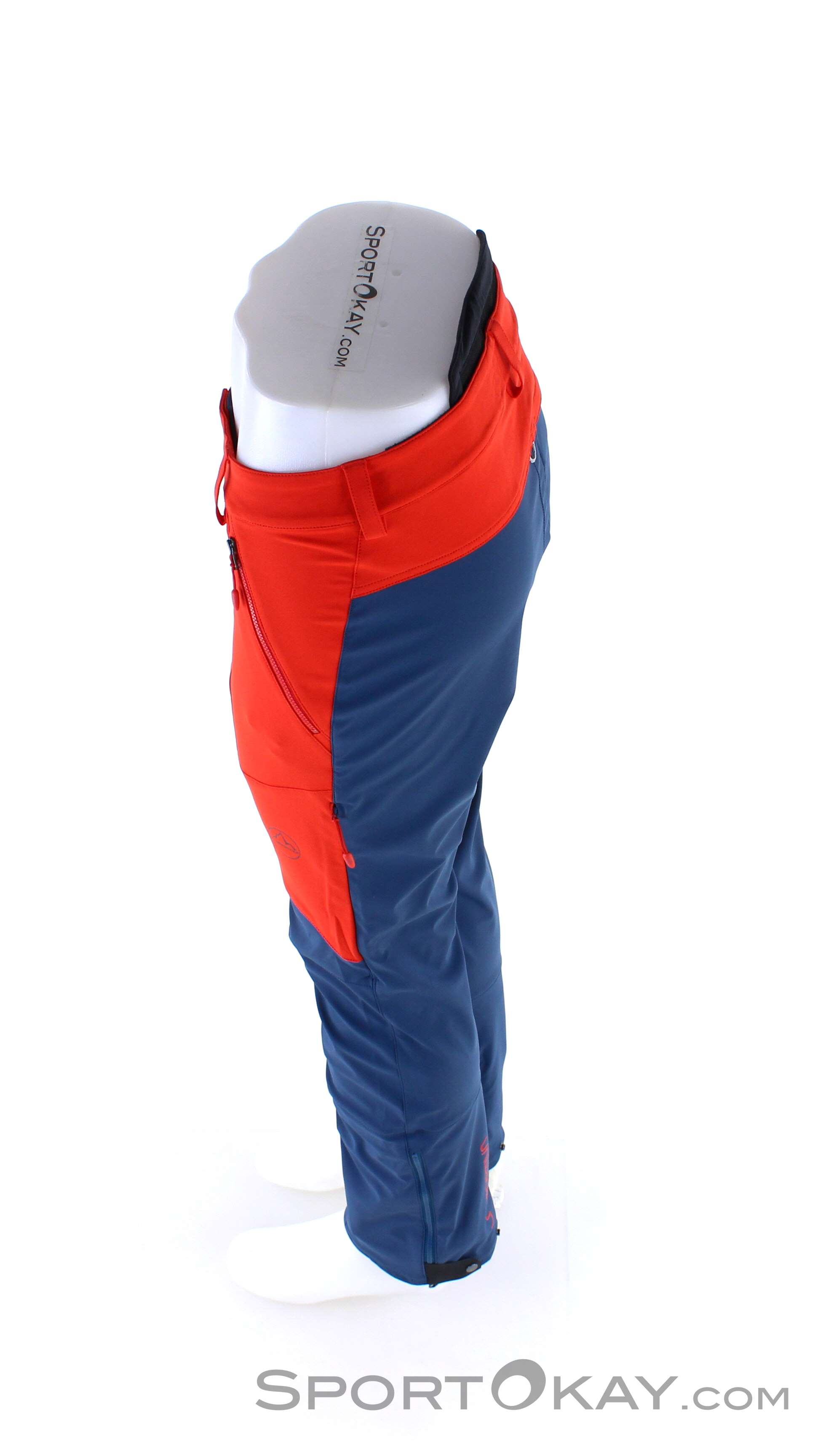 adidas M TERREX SKYRUNNING PANTS, Solar Red Fast and cheap
