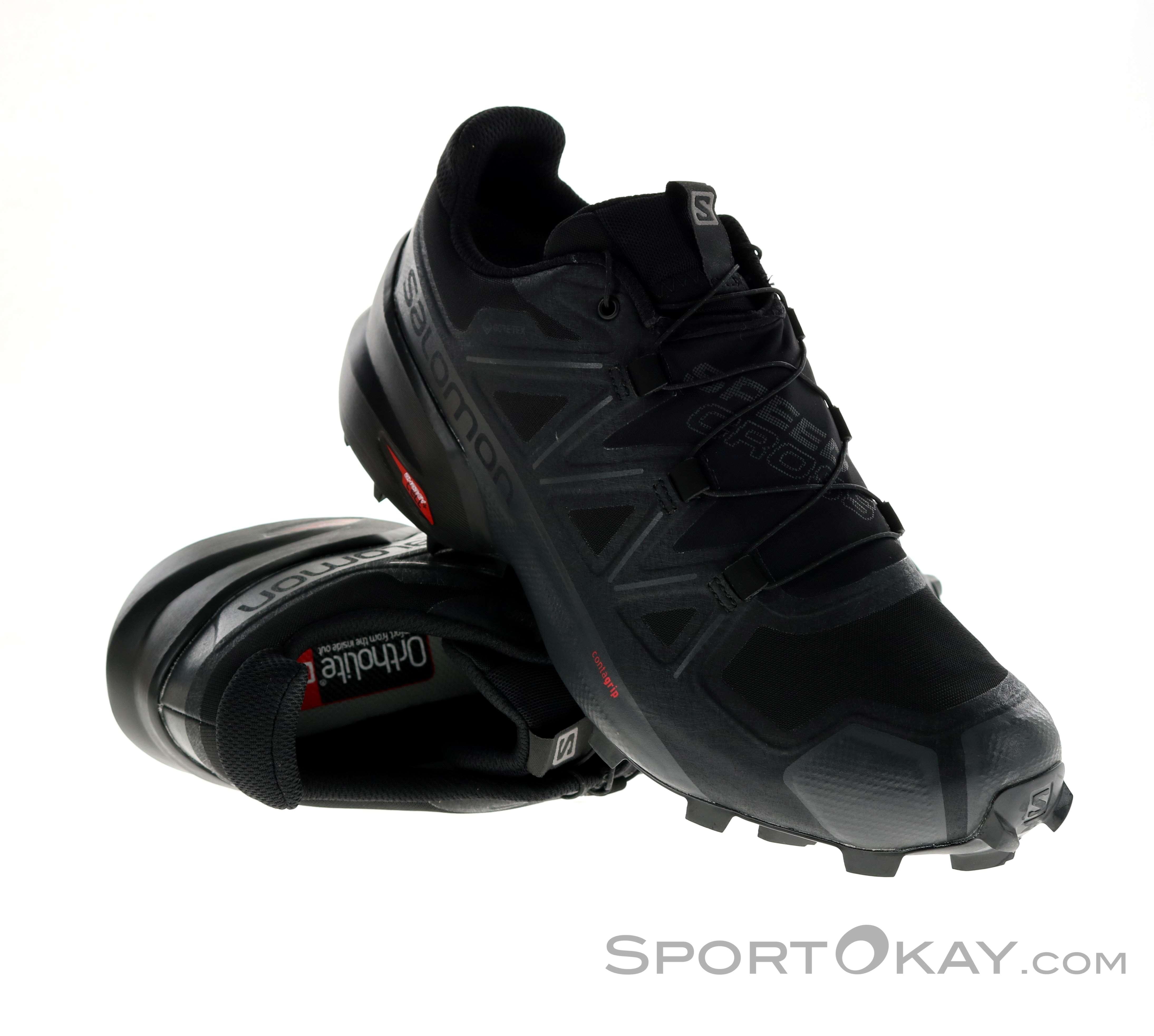 Salomon Speedcross 5 GTX Mens Trail Running Shoes Gore Tex W2DlJ