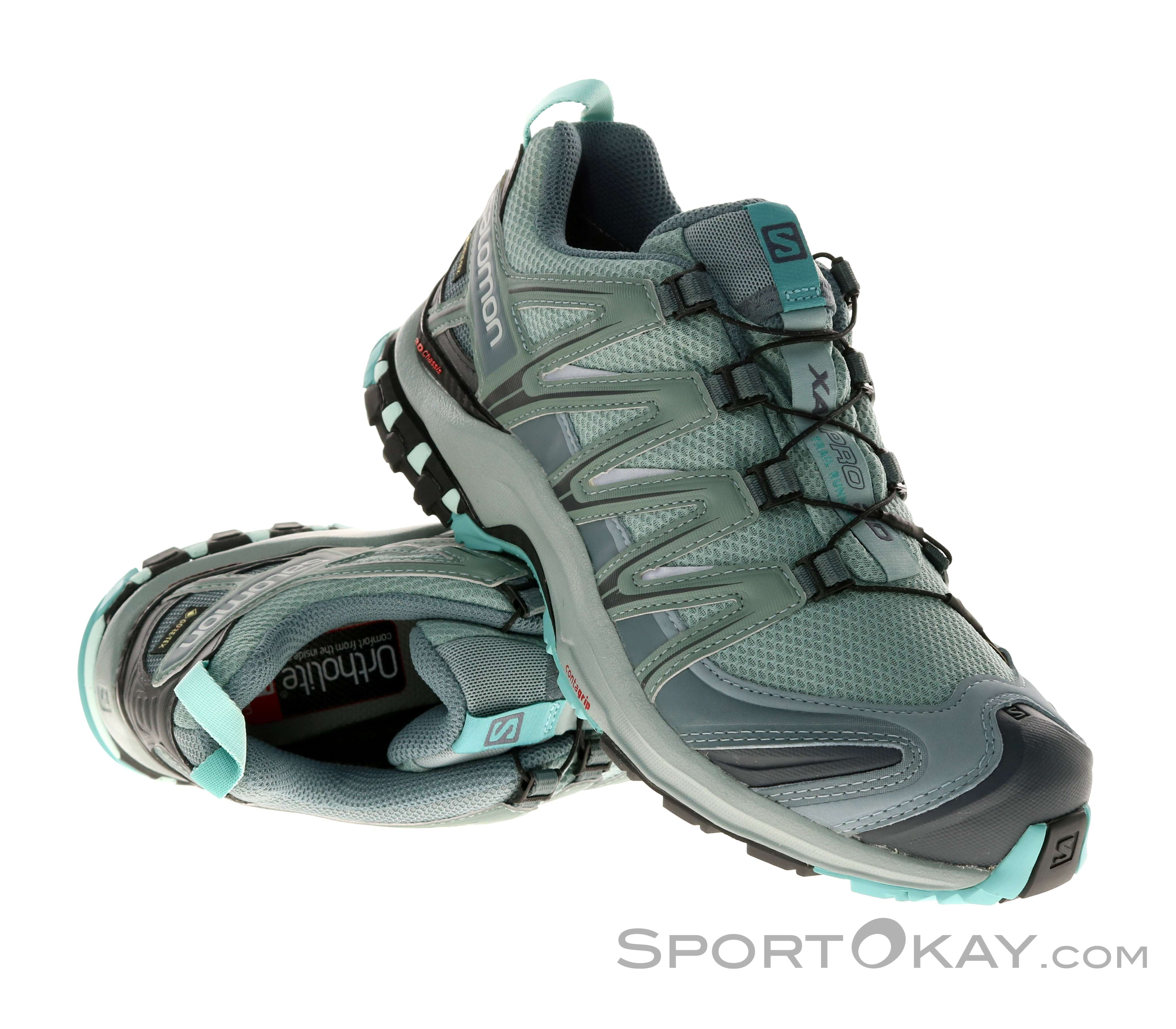 Salomon XA Pro 3D GTX Womens Running Shoes Gore Tex Trail