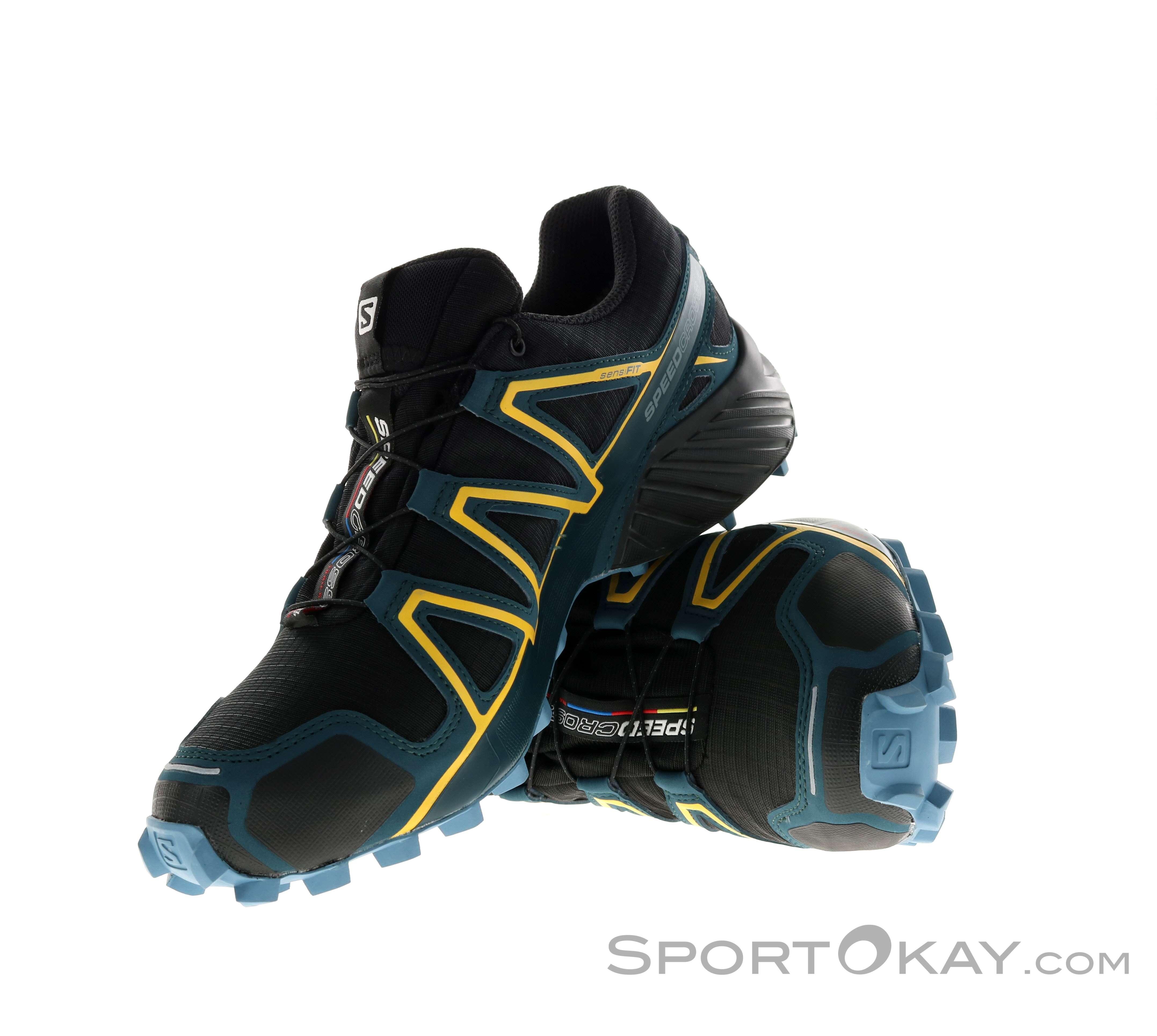 Salomon Speed ??Cross 4 Gore Tex Gtx hiking shoes men hiking shoes Trail Black