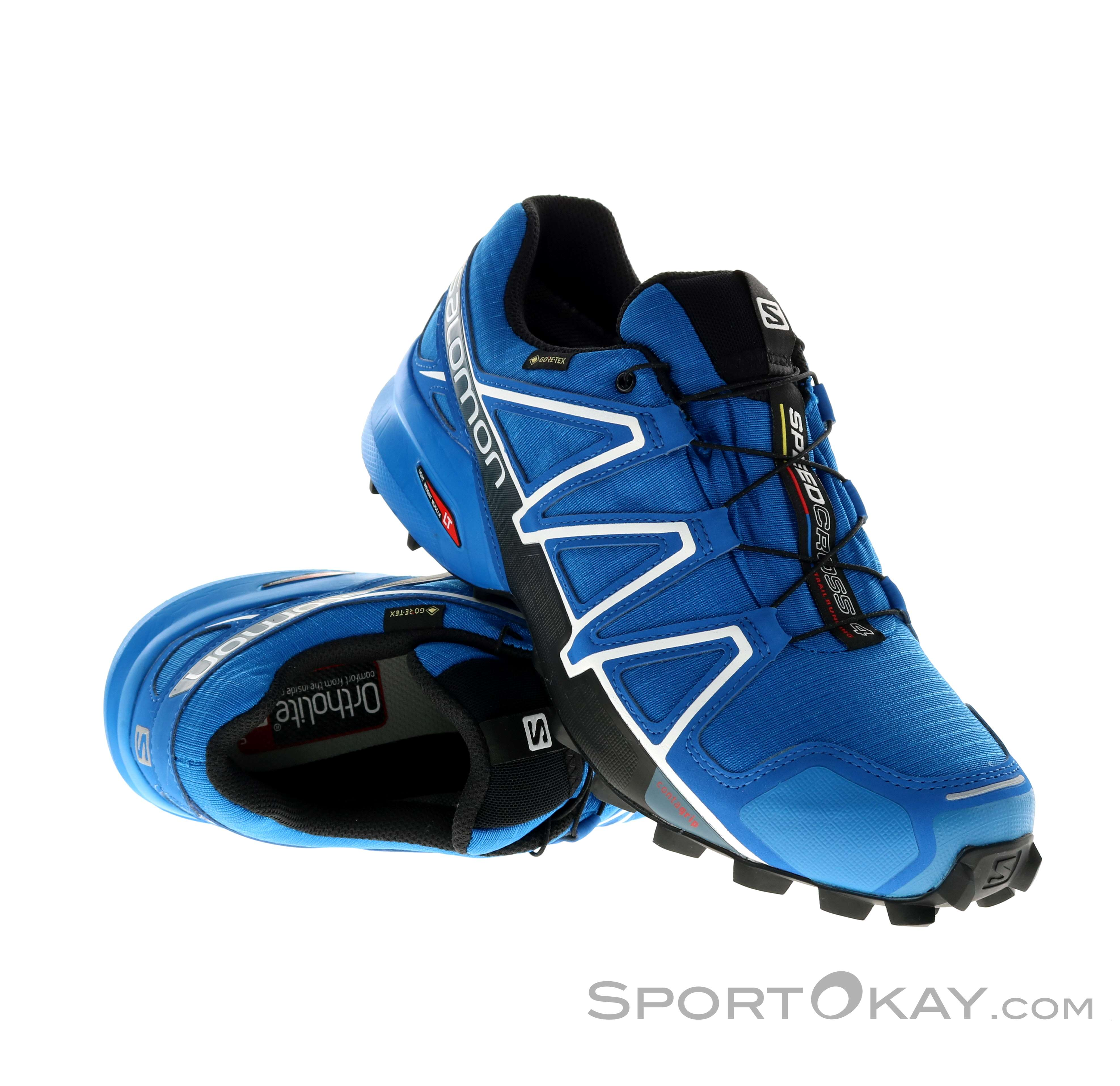 Salomon Salomon Speedcross 4 GTX Mens Trail Running Shoes Gore Tex