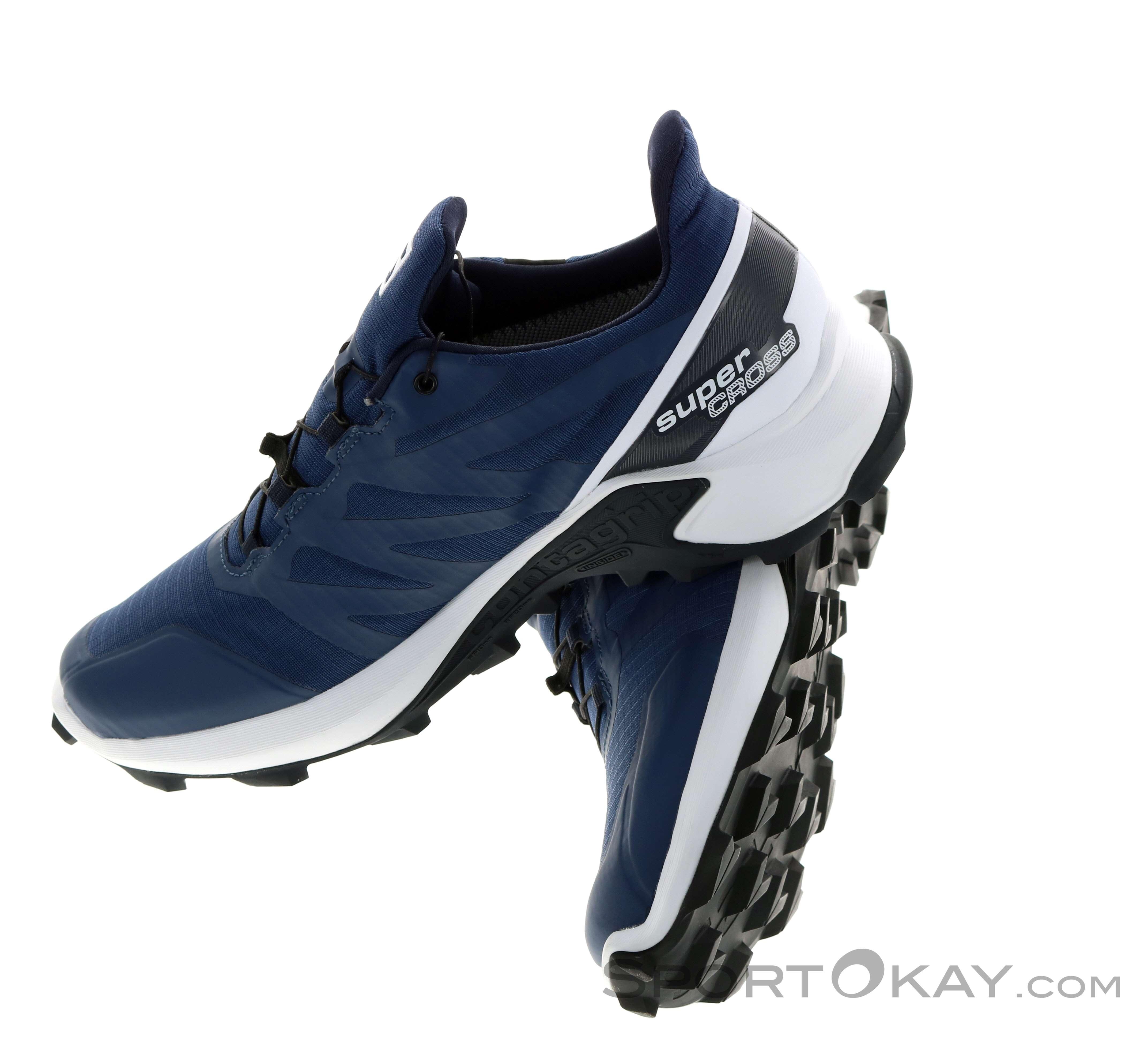 Salomon Salomon Supercross GTX Mens Trail Running Shoes Gore Tex