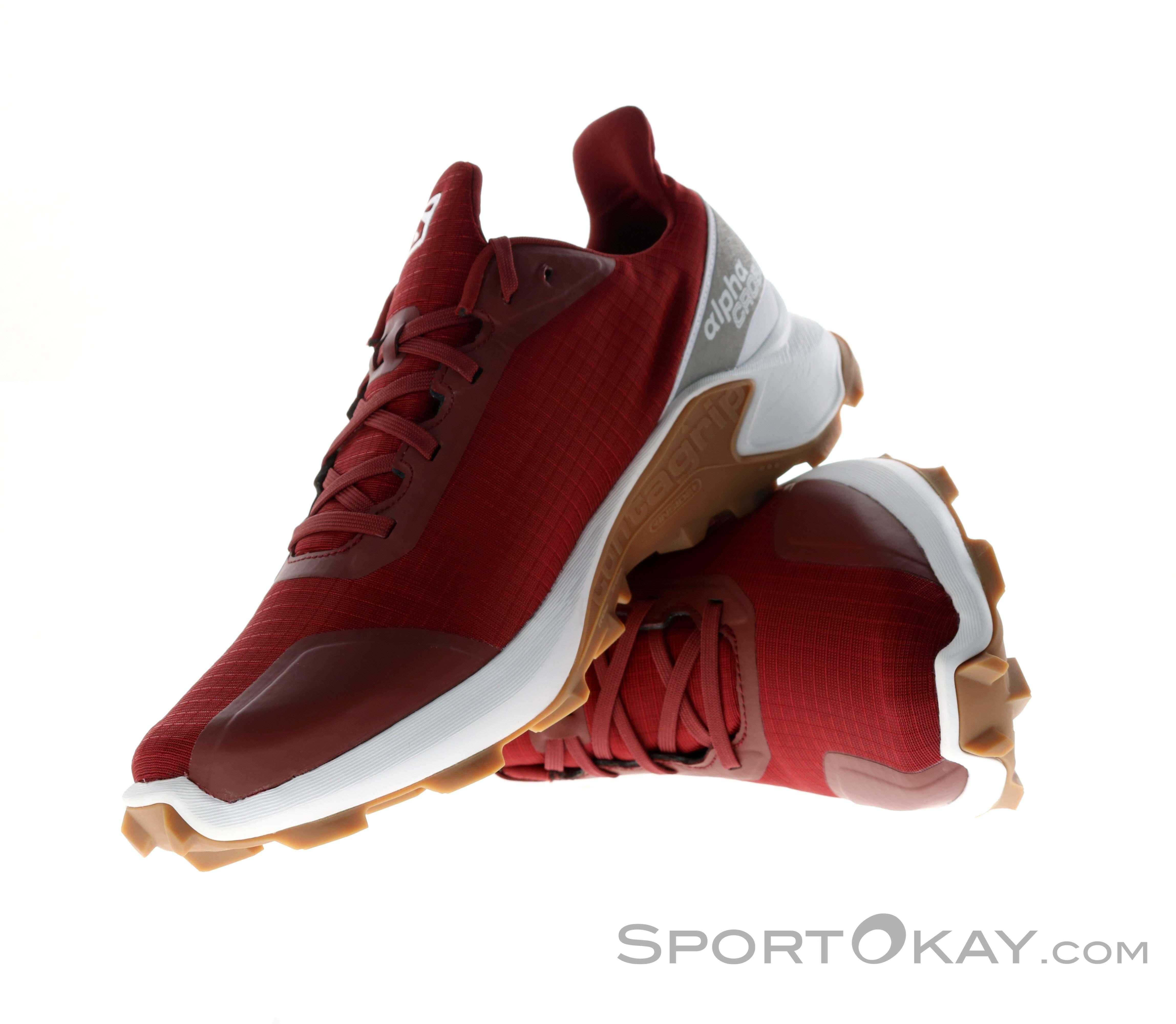 Salomon Alphacross GTX Mens Trail Running Shoes Gore Tex