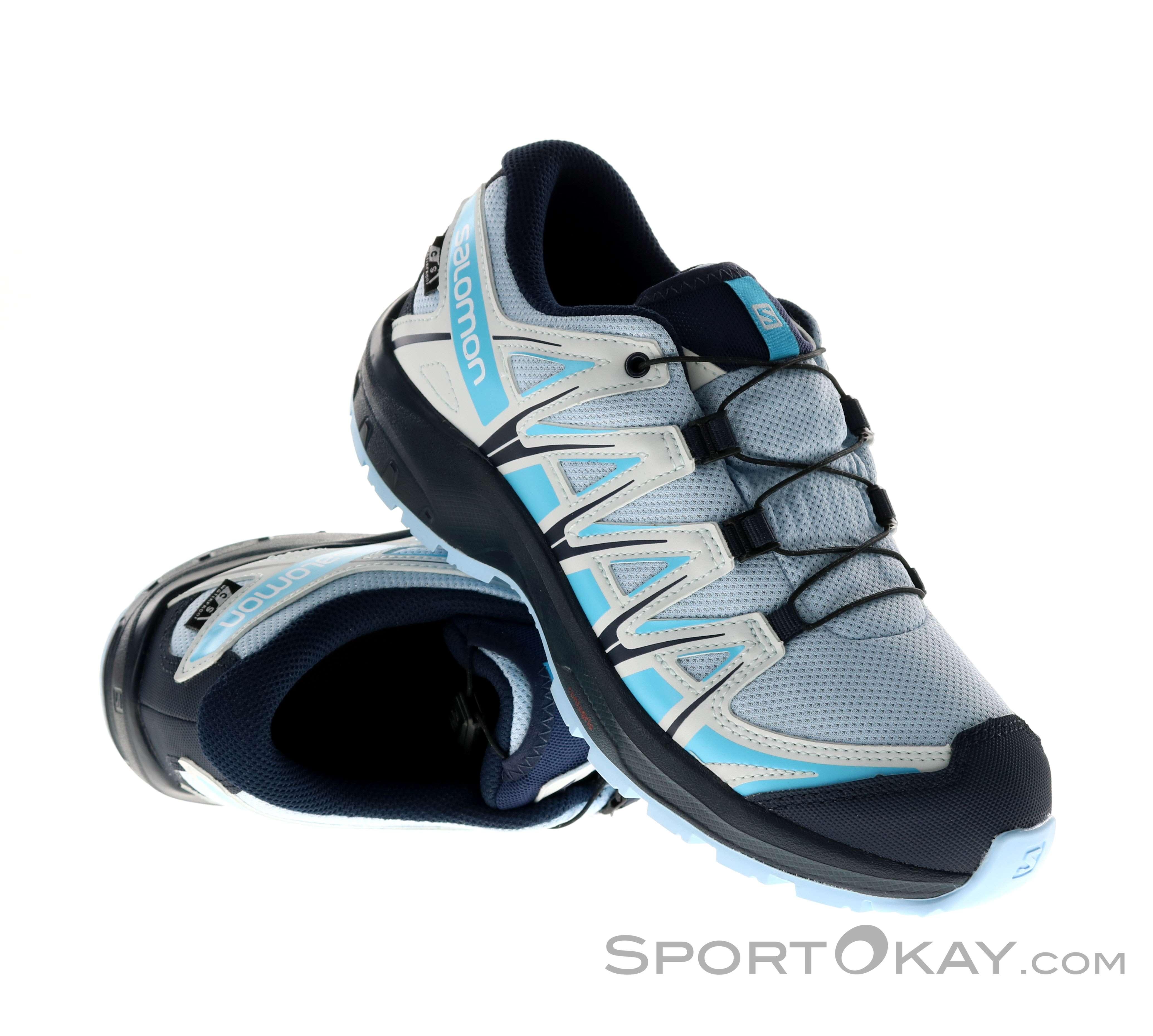 Salomon Salomon XA Pro 3D CSWP J Kids Trail Running Shoes