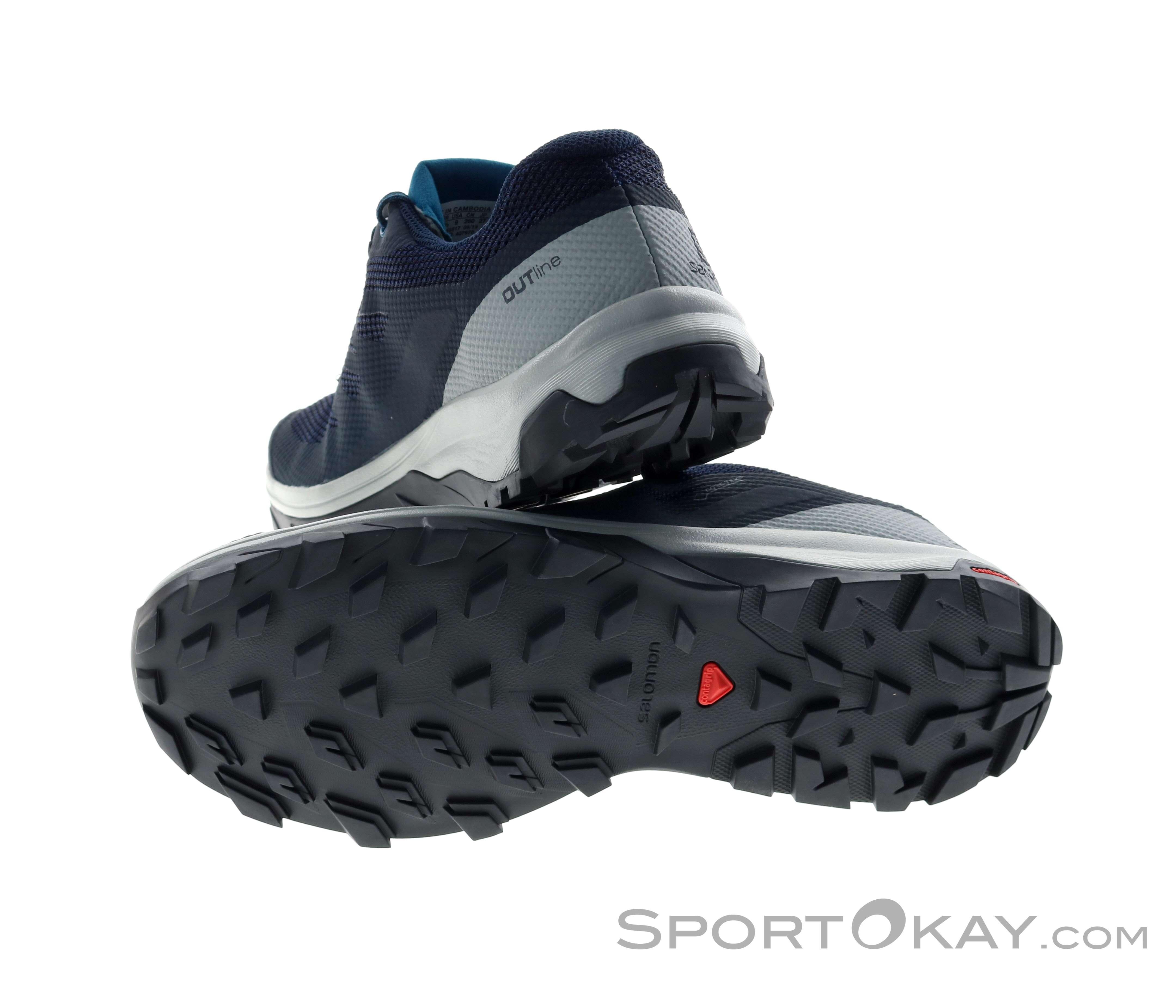 Salomon Salomon Outline GTX Mens Leisure Shoes Gore Tex
