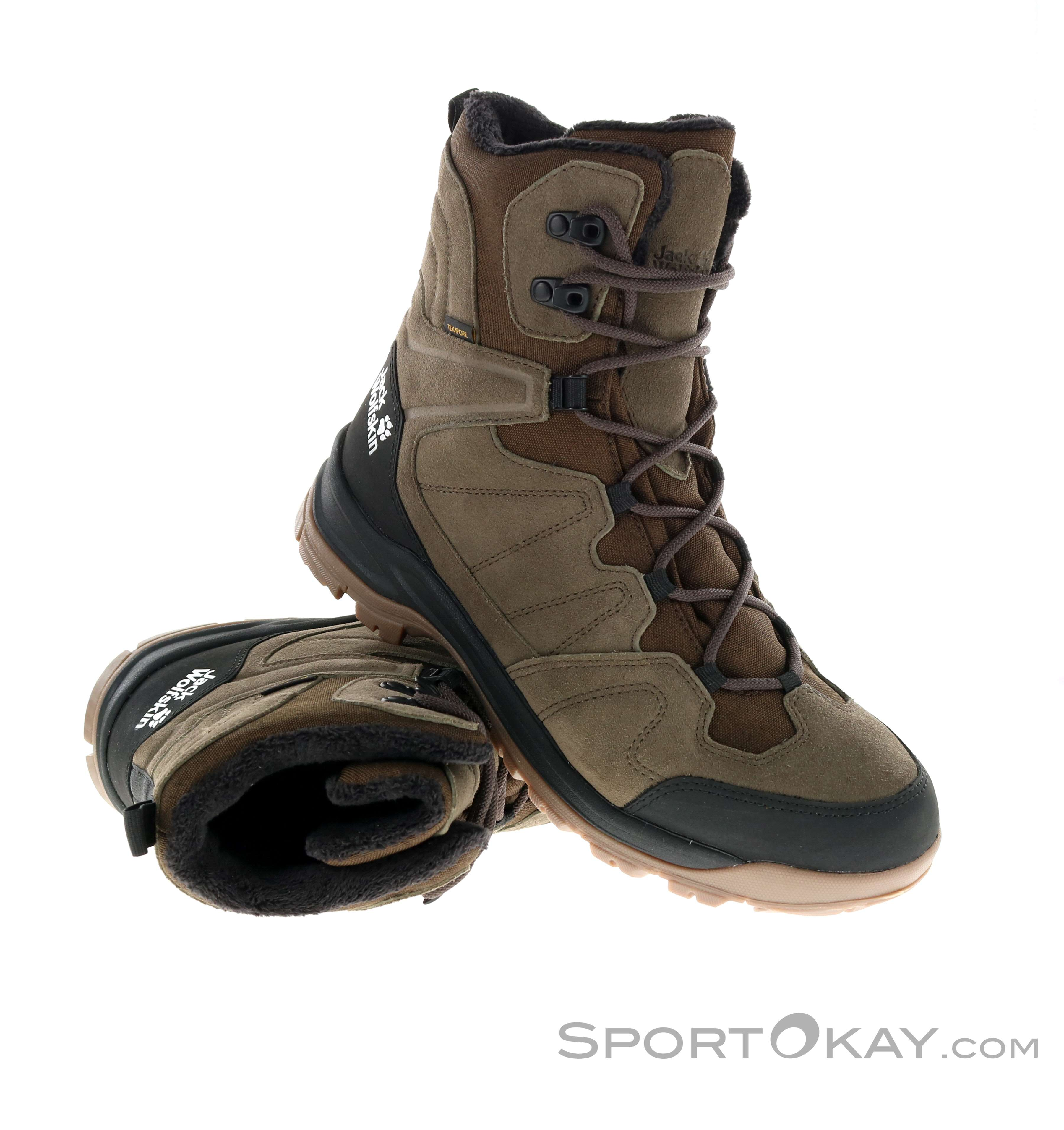 Jack Wolfskin Jack Wolfskin Thunder Bay Texapore High Mens Winter Shoes