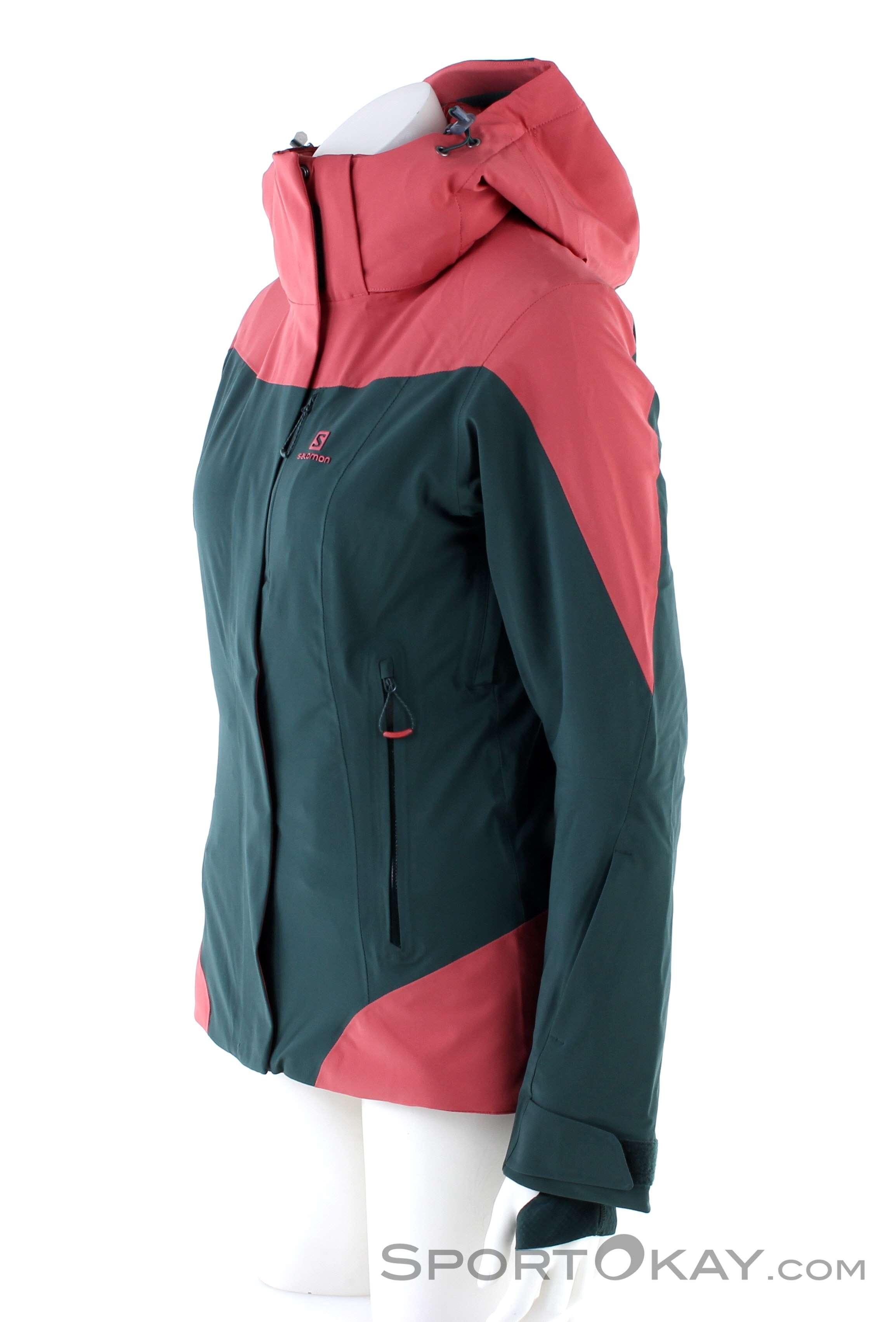 Salomon Icerocket Jacket Womens Ski Jacket Ski Jackets