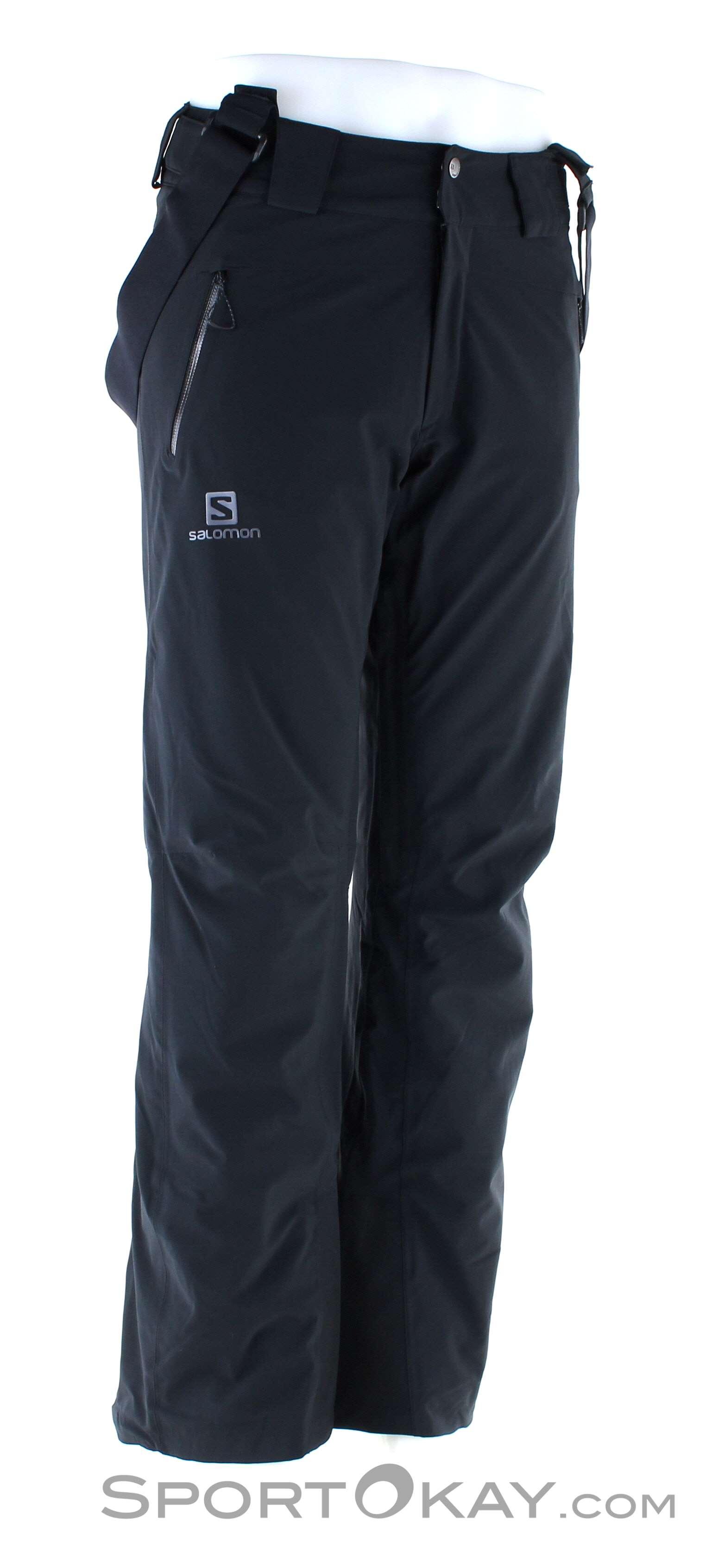 Salomon Salomon Iceglory Pant Mens Ski Pants Long Cut