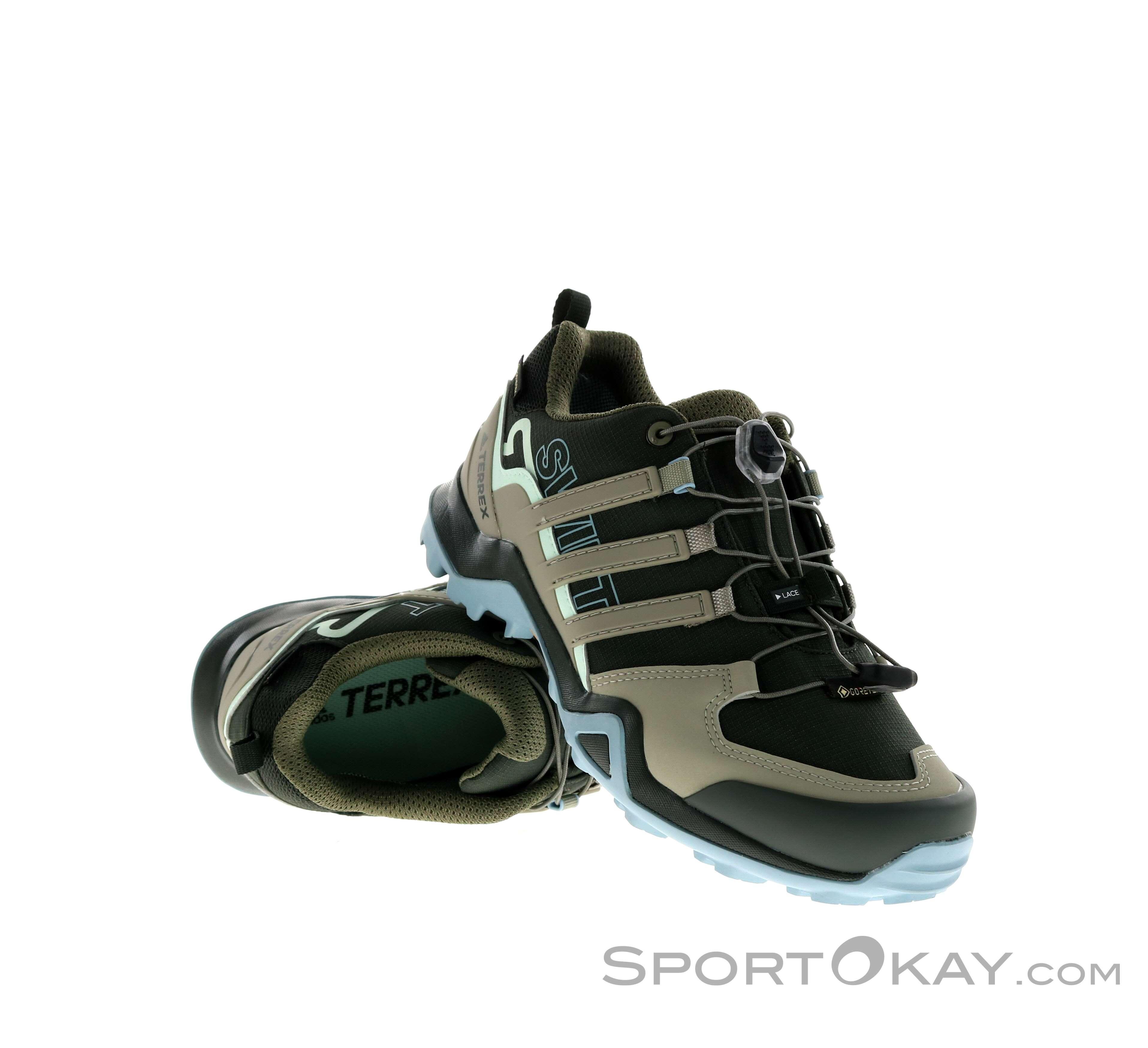 la licenciatura representación guisante  adidas Terrex Swift R2 GTX Womens Hiking Boots - Hiking Boots - Shoes &  Poles - Outdoor - All