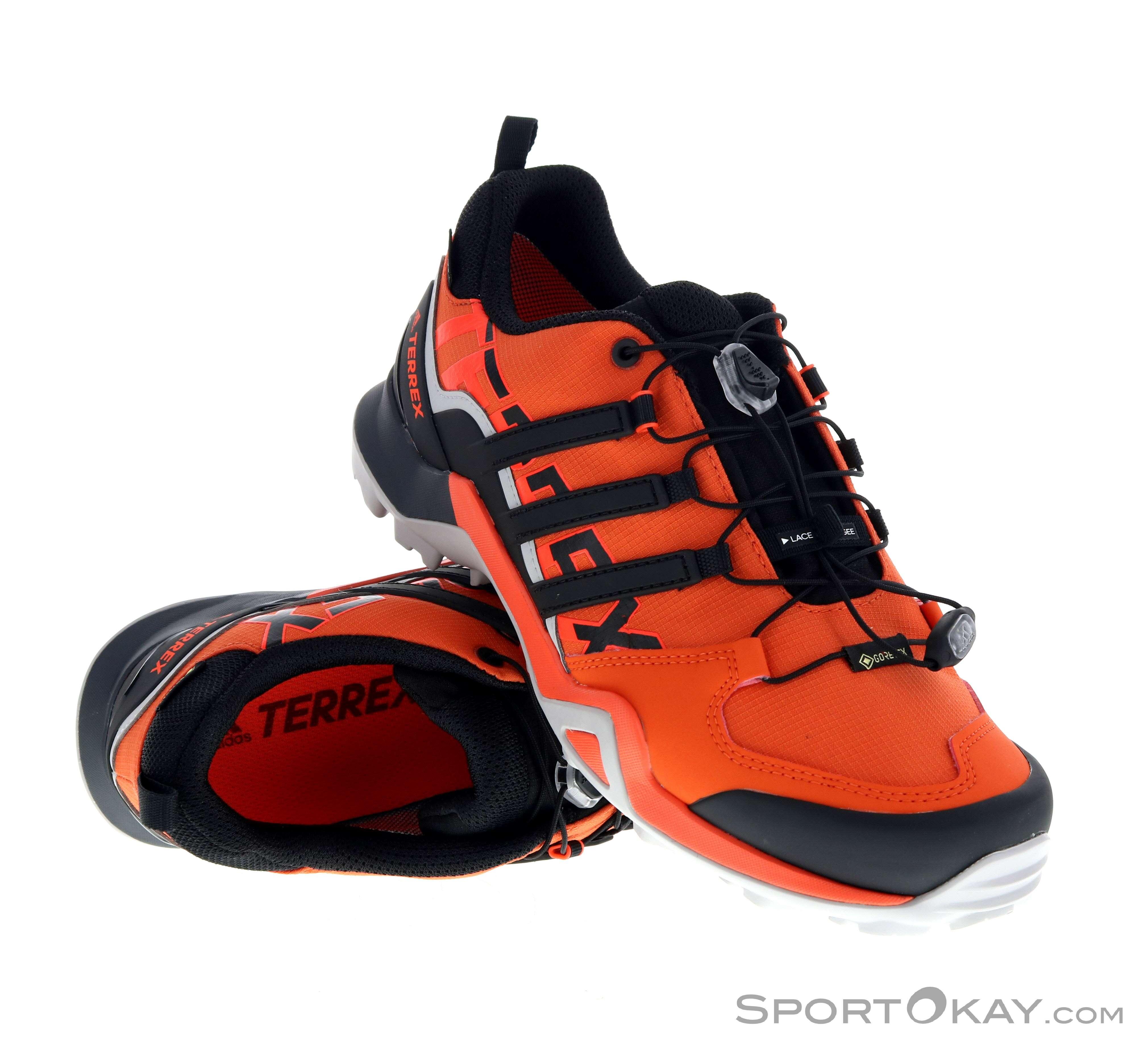 adidas Terrex adidas Terrex Swift R2 Mid GTX Mens Hiking Boots Gore-Tex