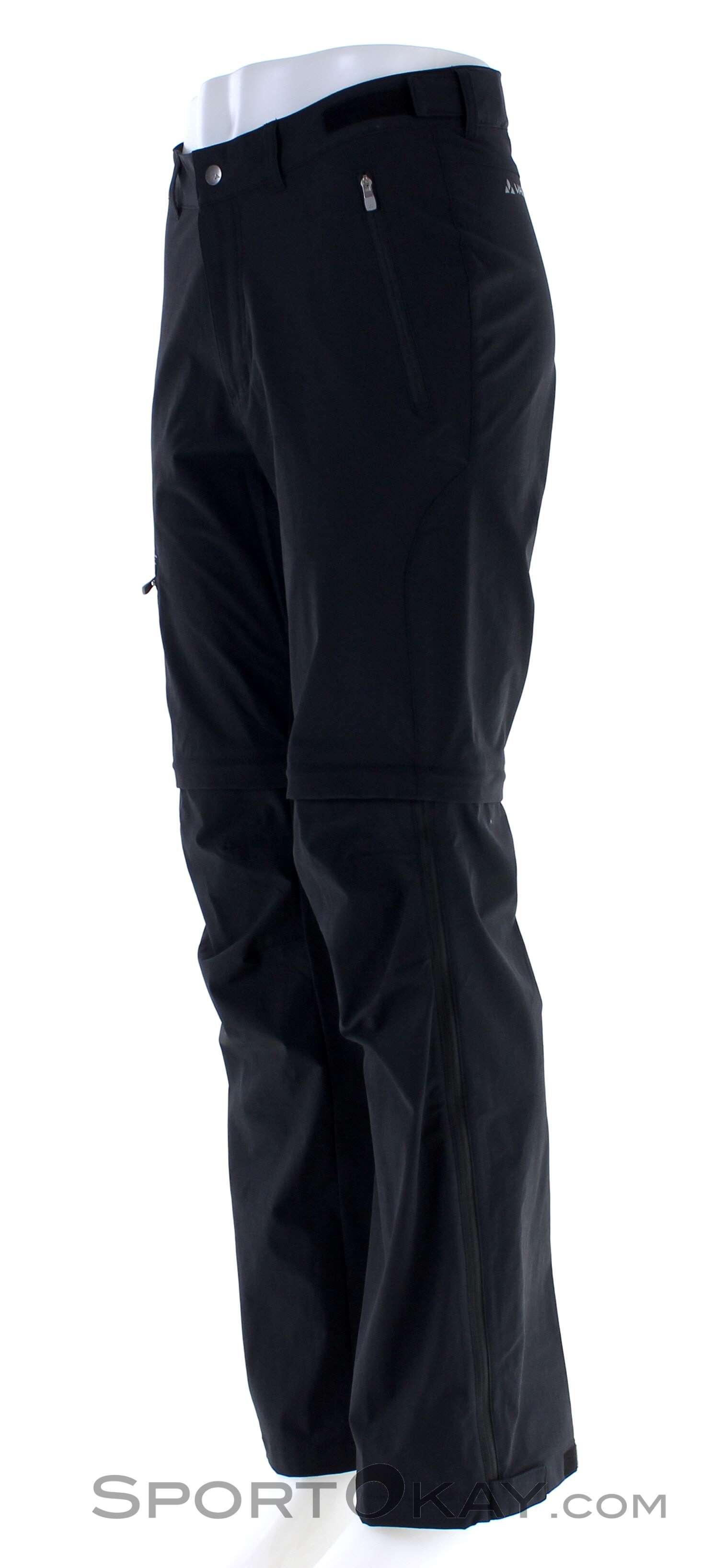 Rapido asciuga M Vaude Uomo Ibrida Pullover per la Montagna Sport Black