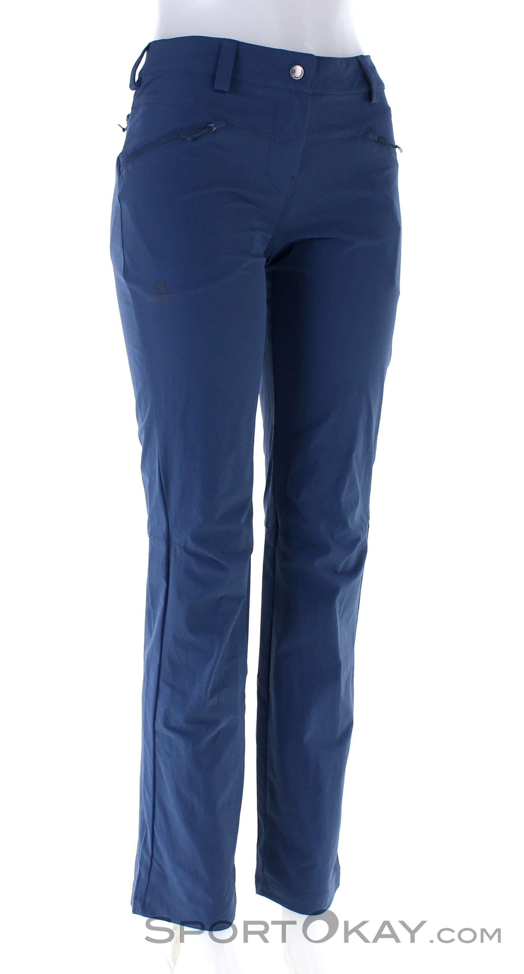 Salomon Salomon Wayfarer Straight Pant LT Regular Damen Outdoorhose l6SkY