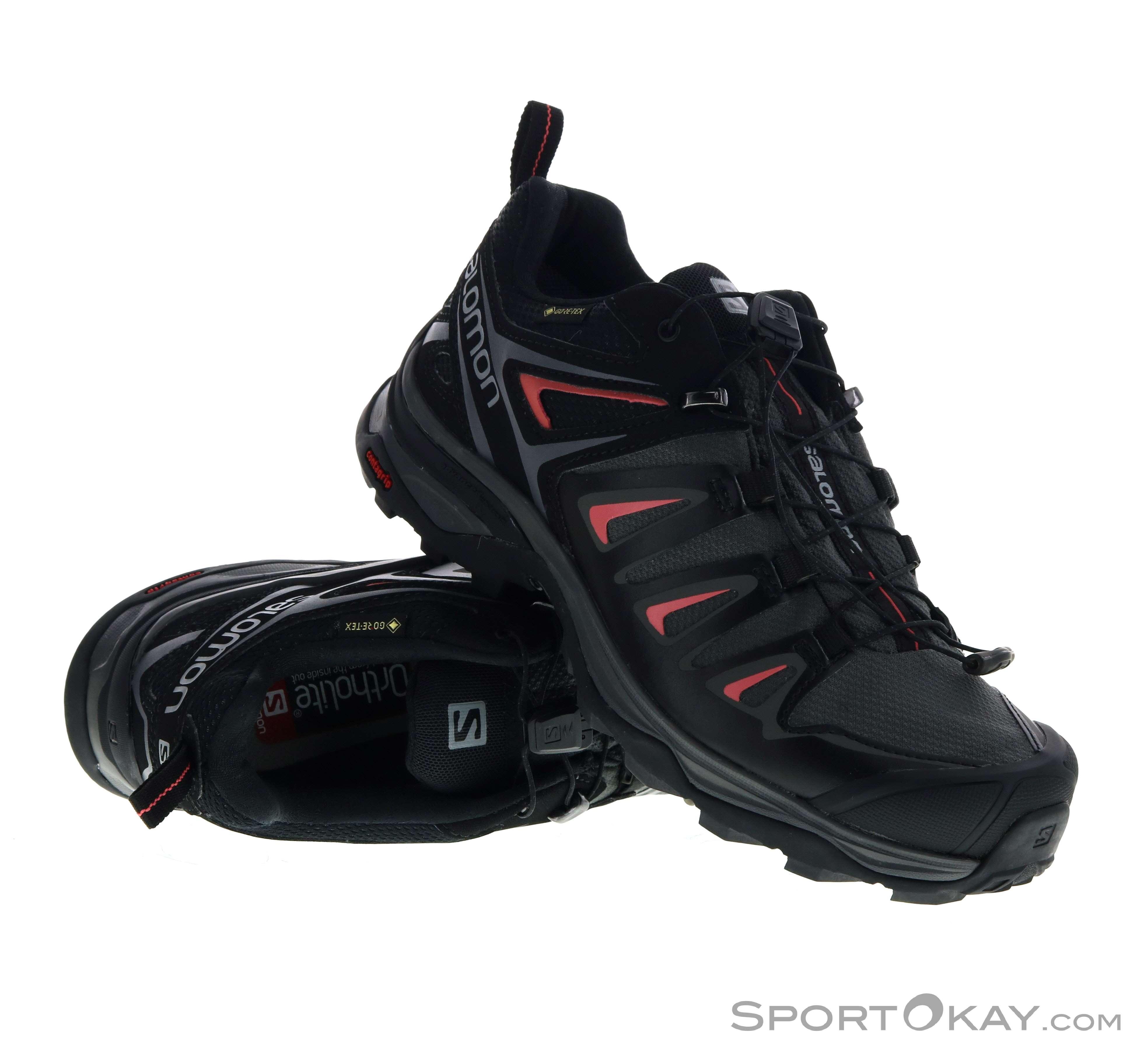 Salomon Salomon X Ultra 3 GTX Womens Hiking Boots Gore Tex