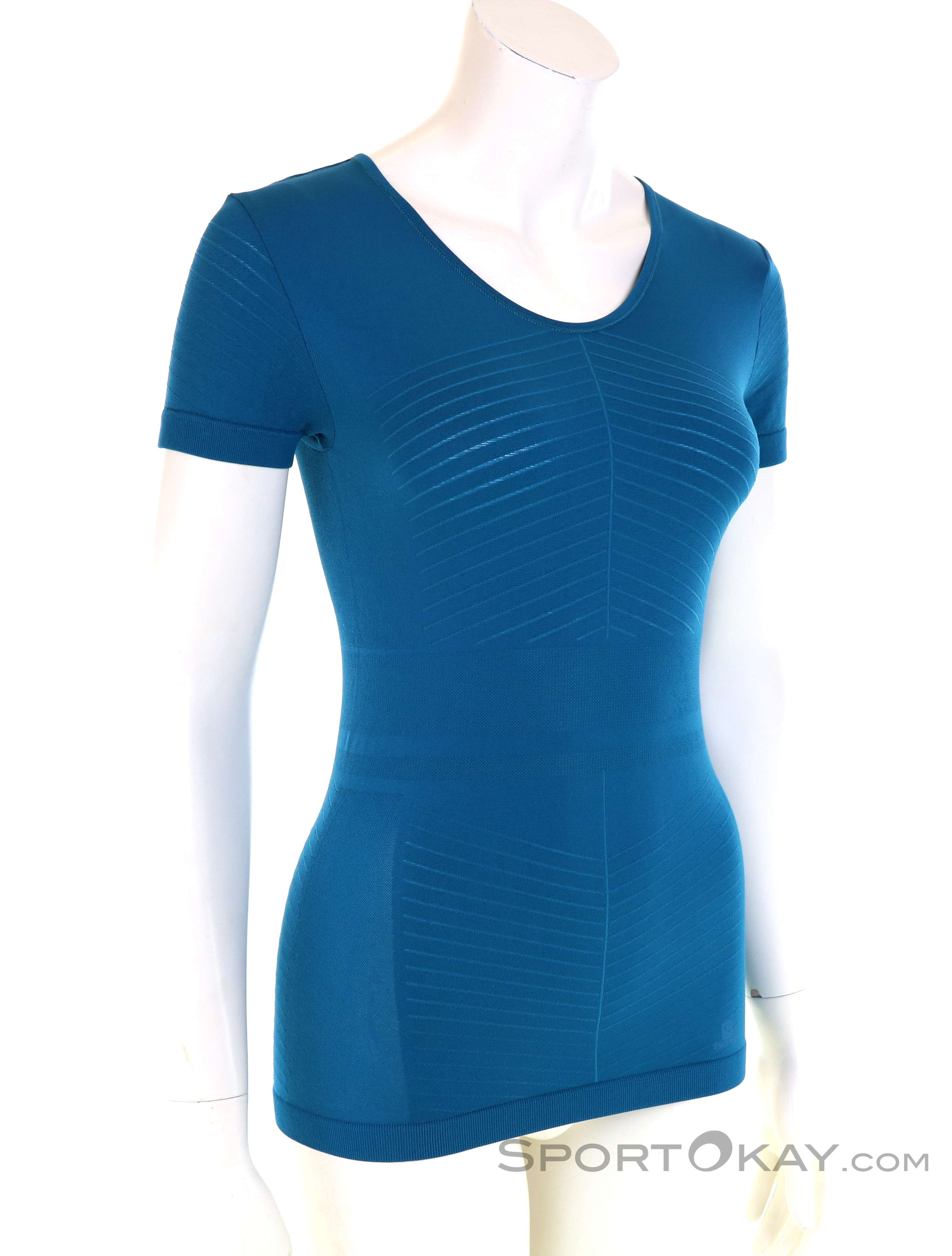 Salomon Elevate Move'On SS Damen T Shirt Shirts x7x8j