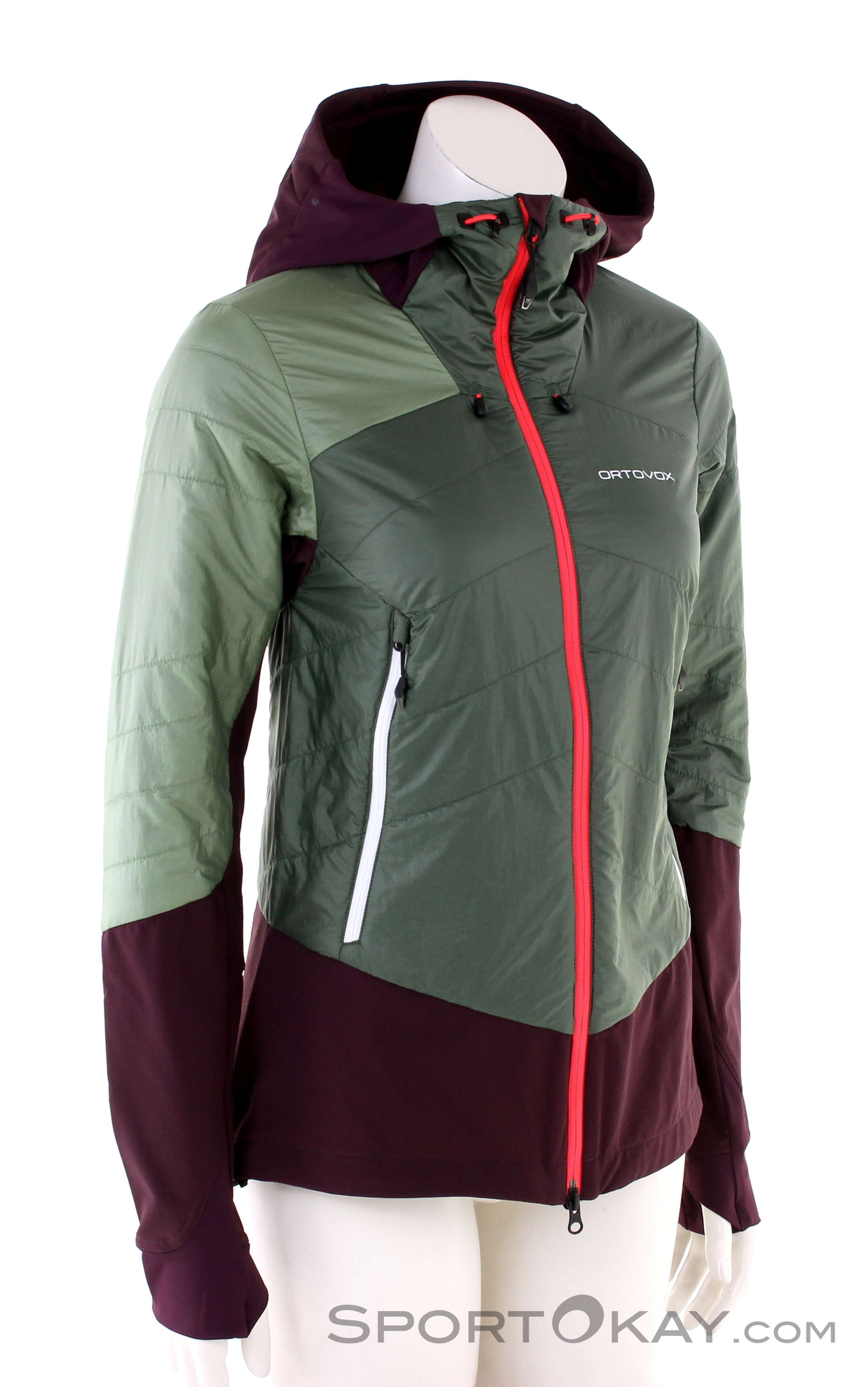 Ortovox Swisswool Piz Bial Womens Ski Touring Jacket